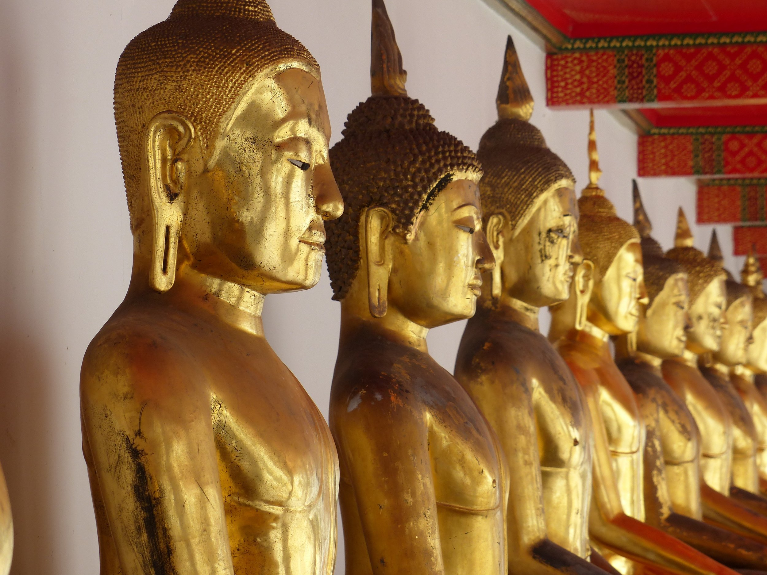 Collection of Buddhas at Wat Pho, Bangkok