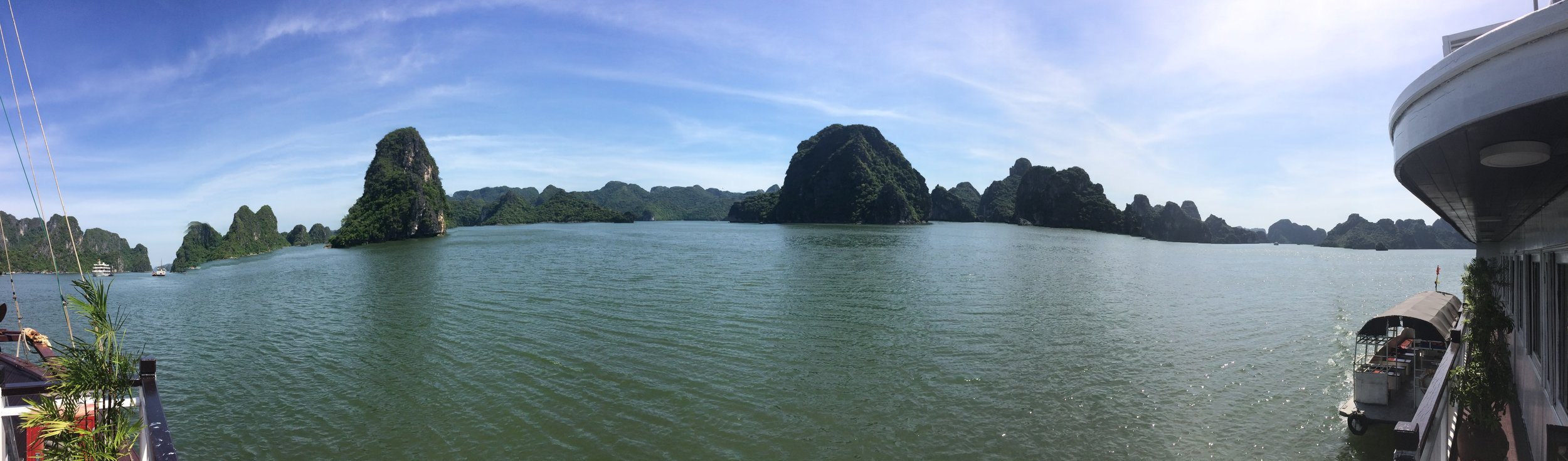 We took a day trip to Halong Bay