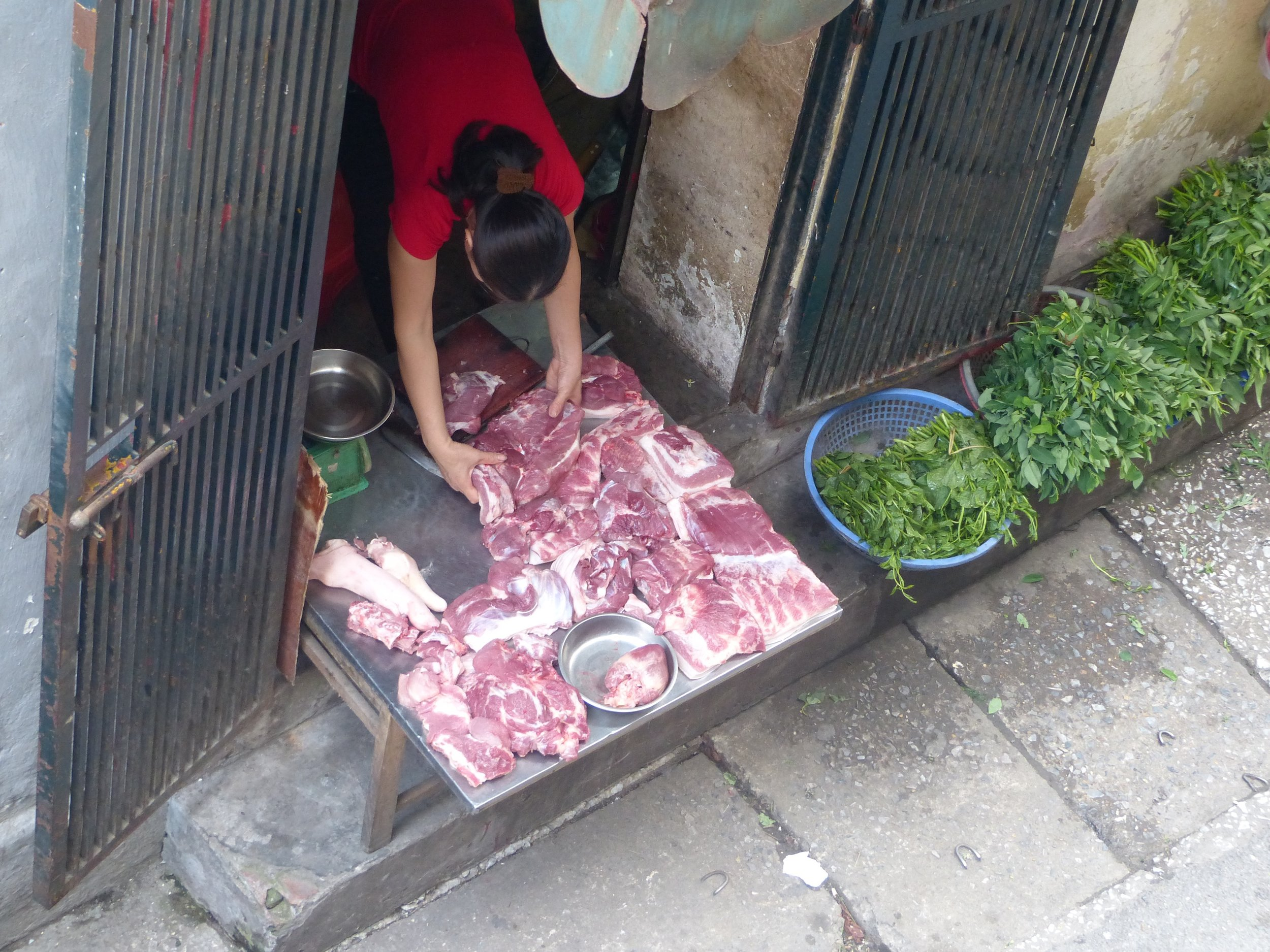 Why are Vietnamese butchers primarily women?