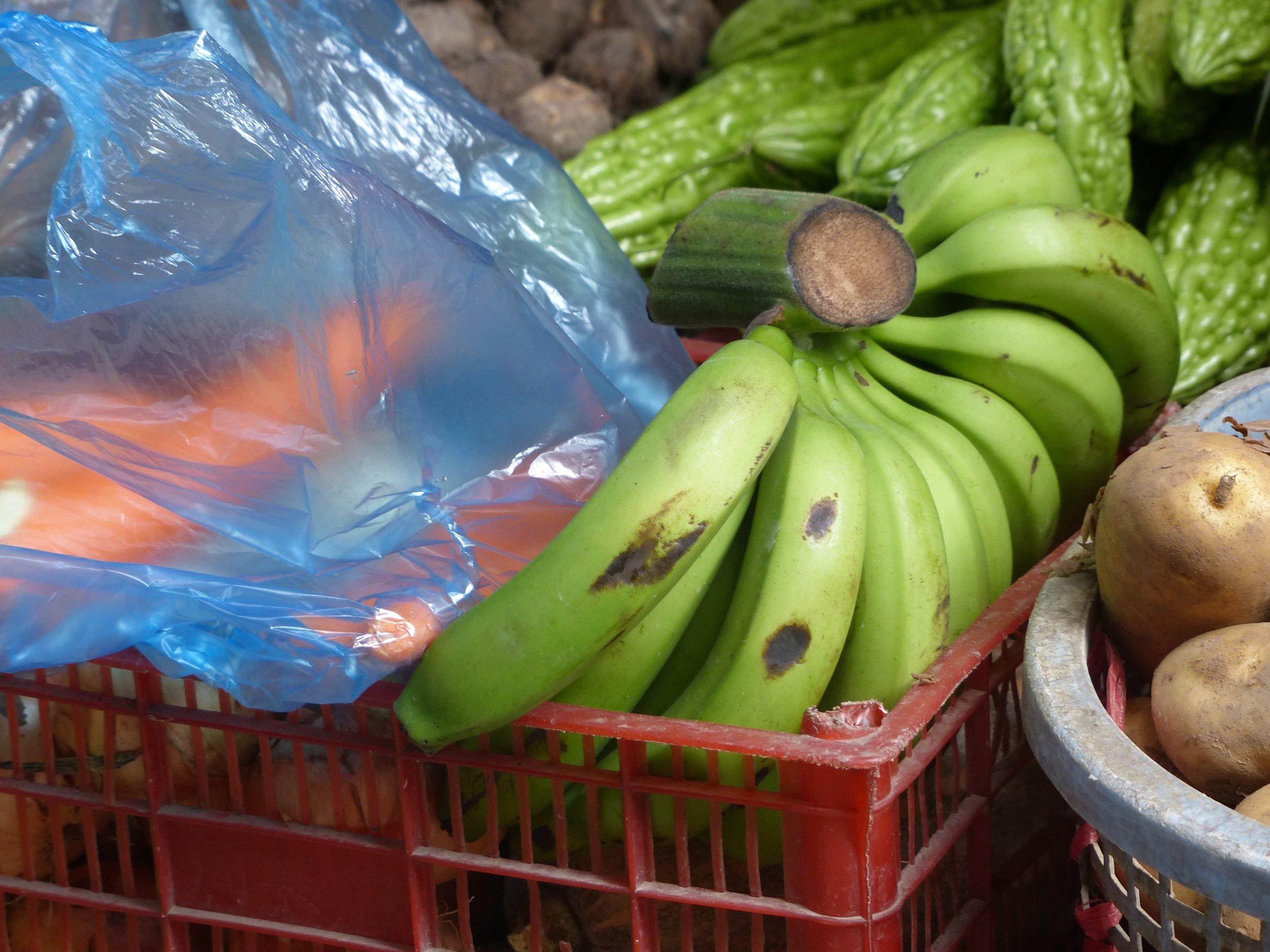 So THAT'S how bananas grow!