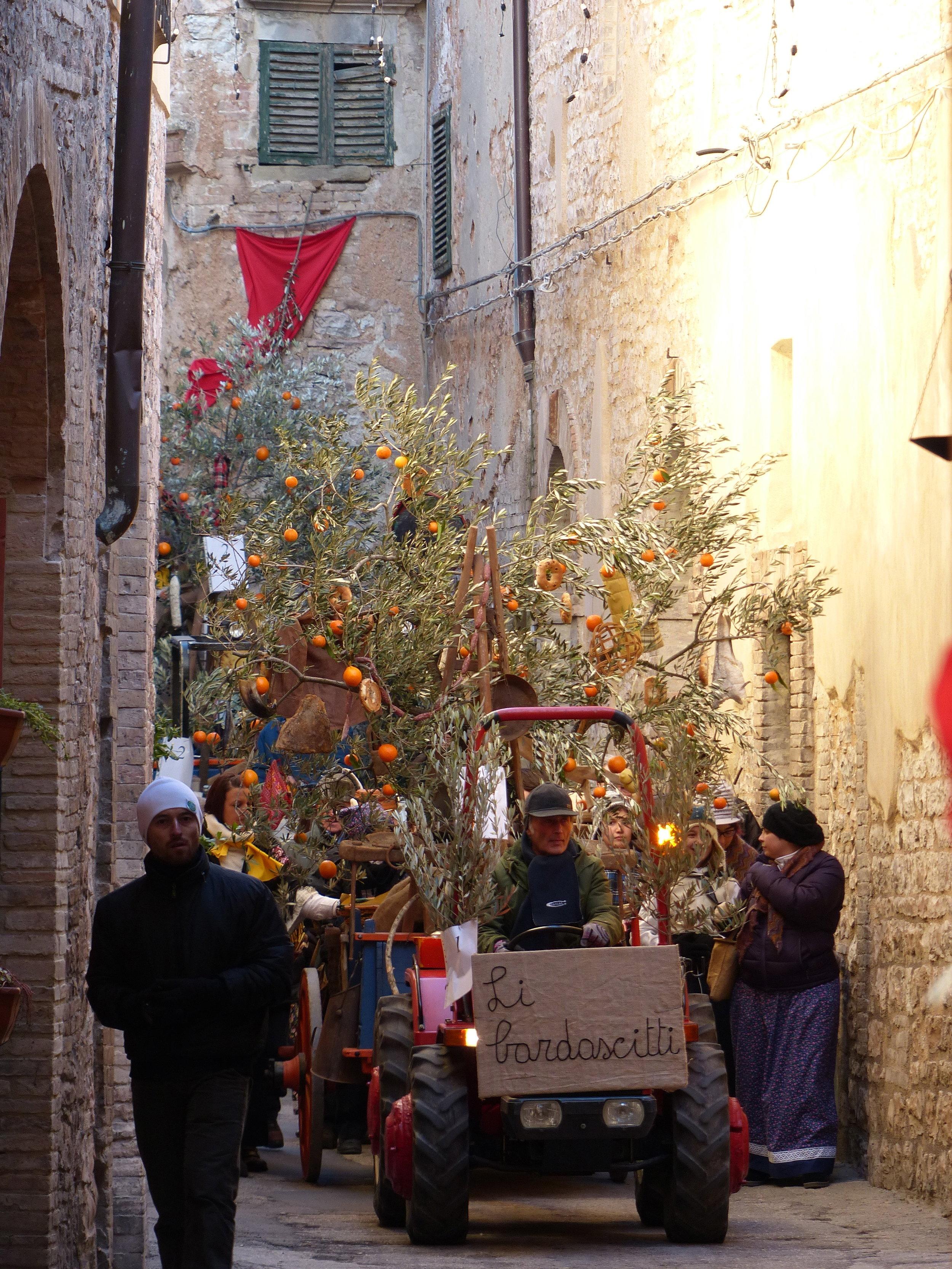 l'oro di spello festival, Umbria