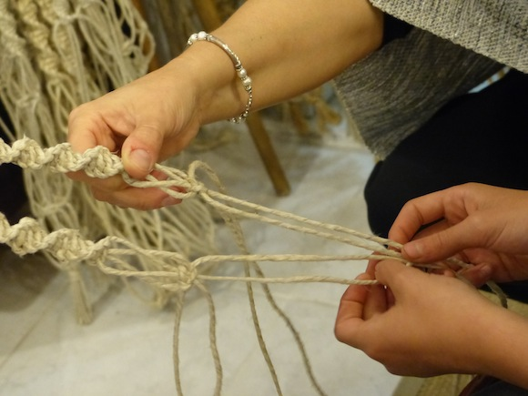Weaving in Spello, Umbria