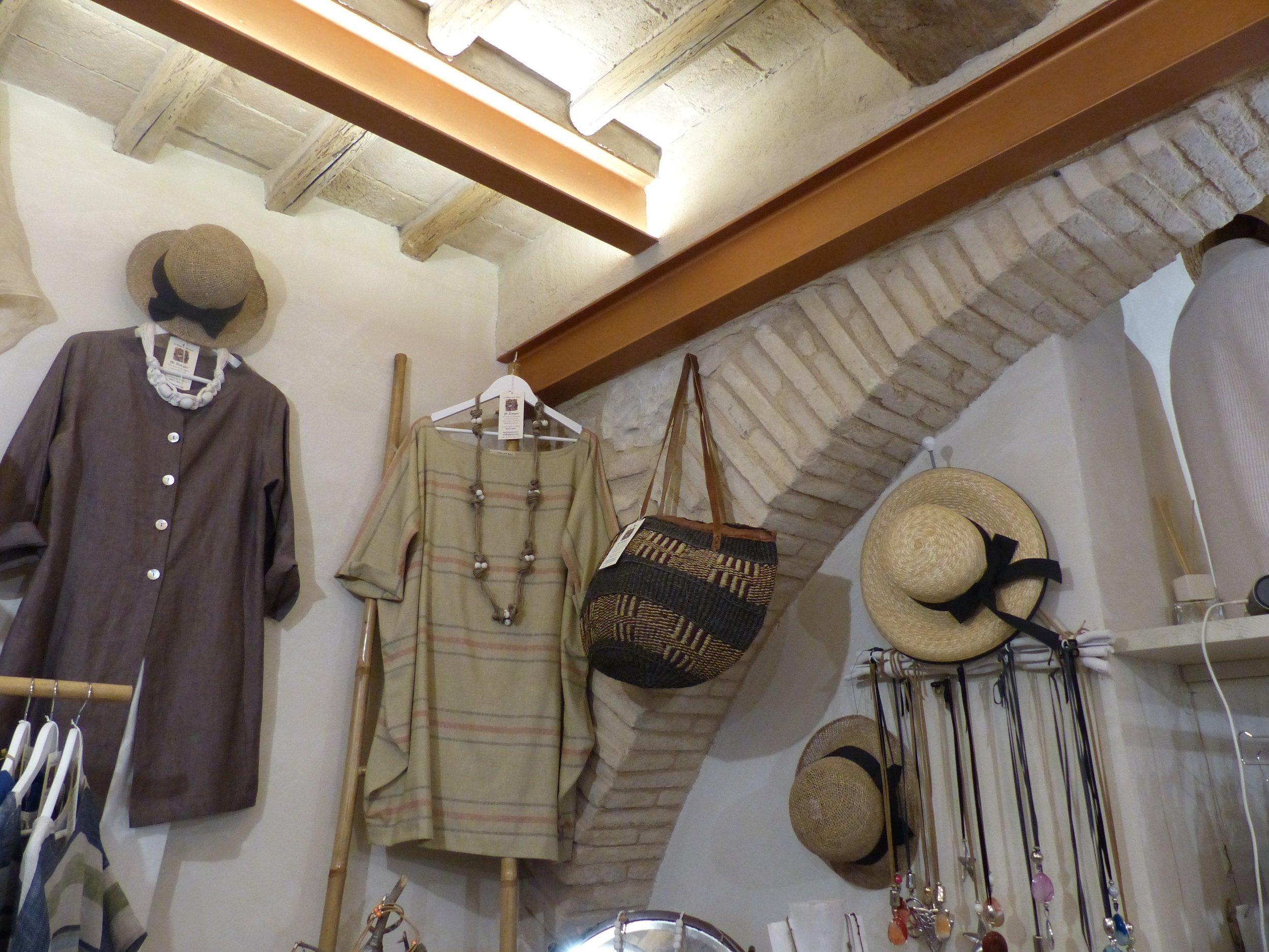 Clothes in Spello, Umbria