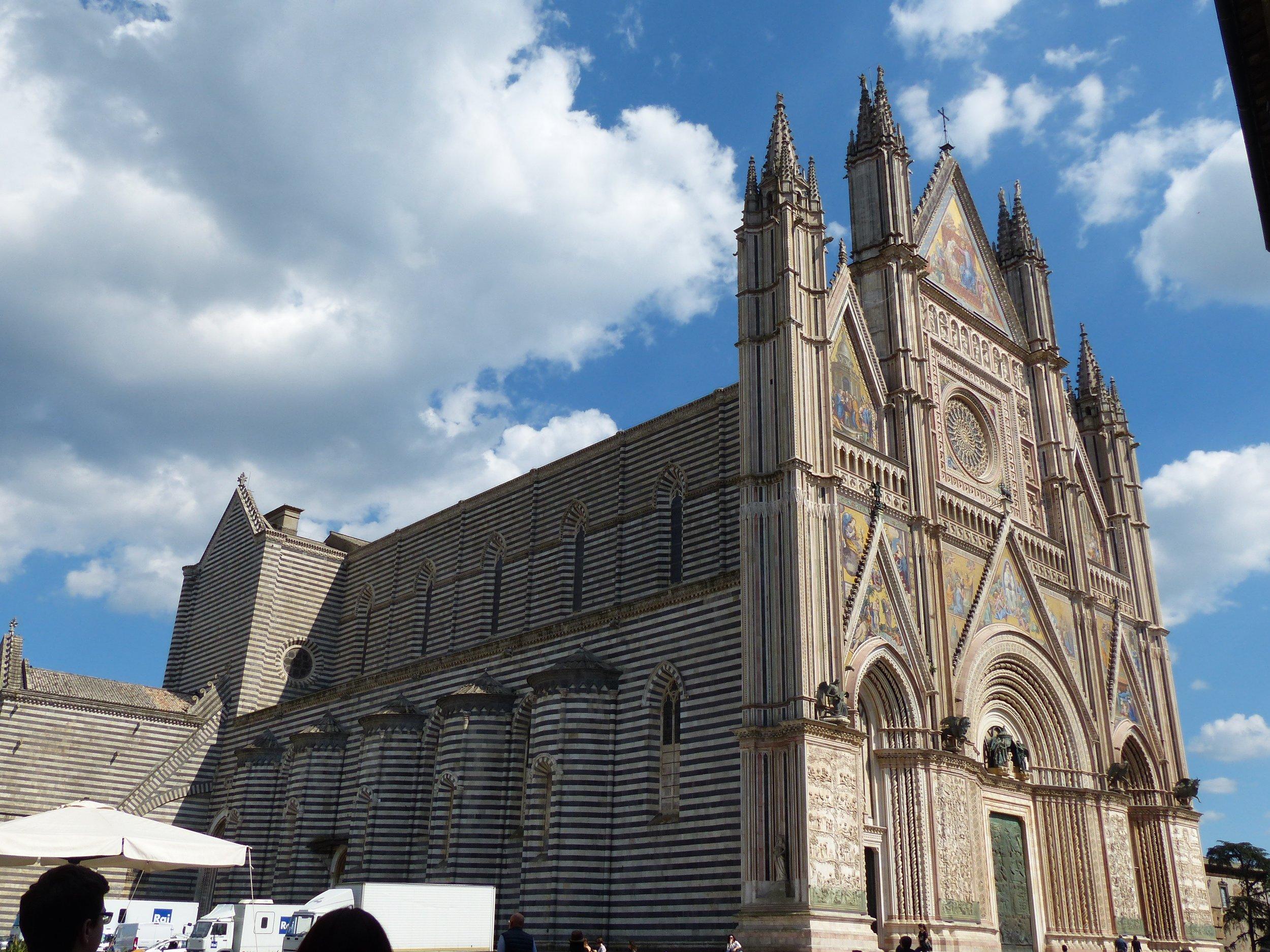Duomo in Orvieto, Umbria