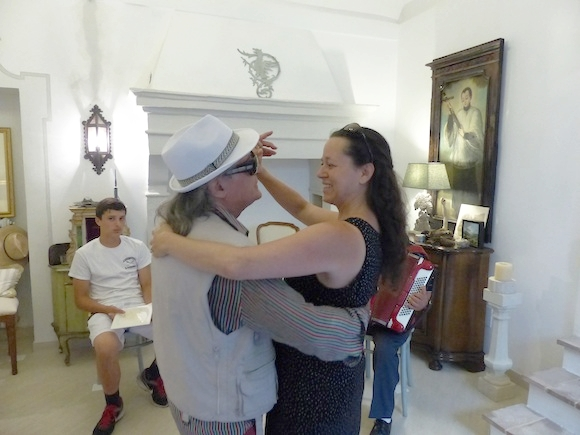 Dancing with Angelo in Spello, Umbria