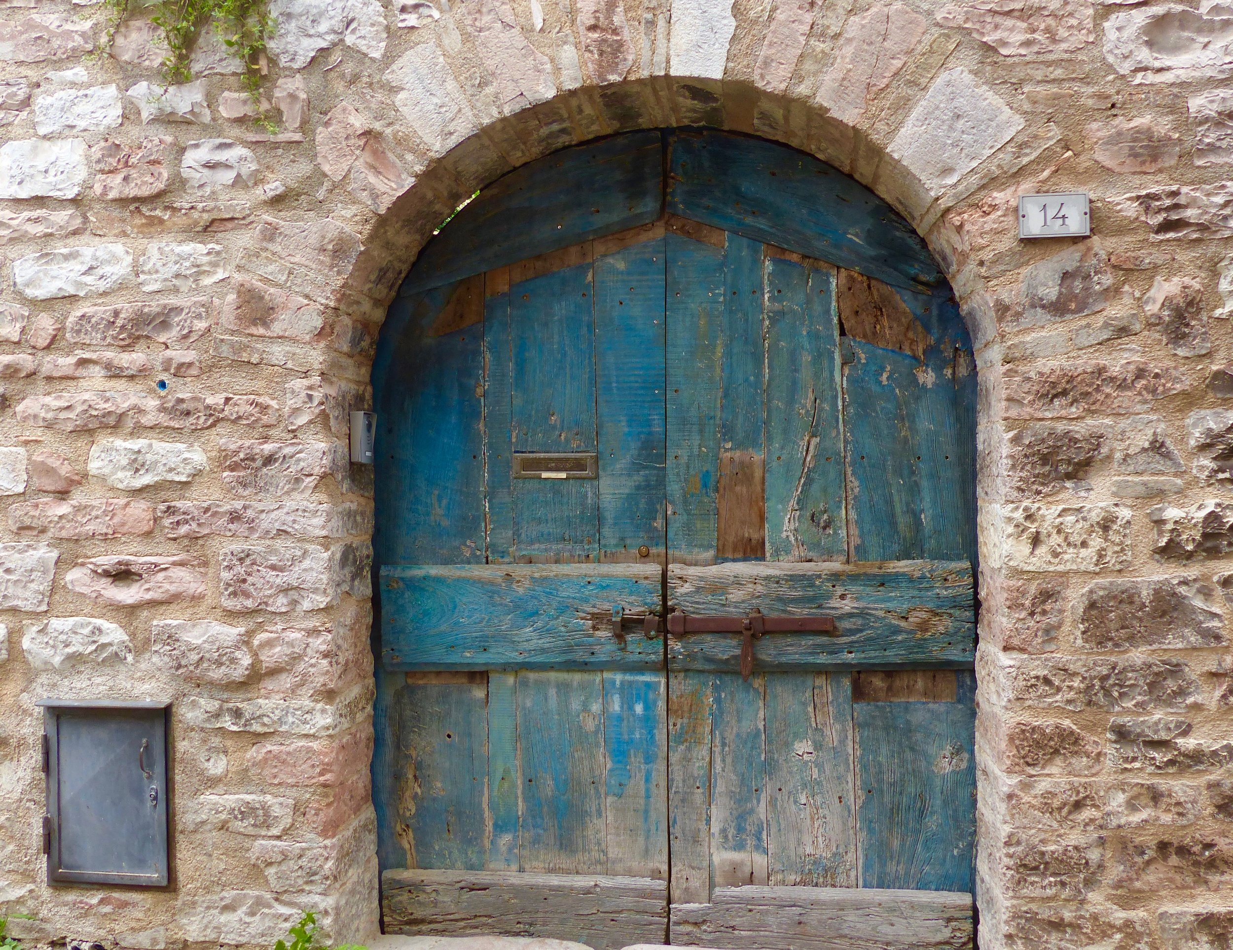 Door in Spello, Umbria