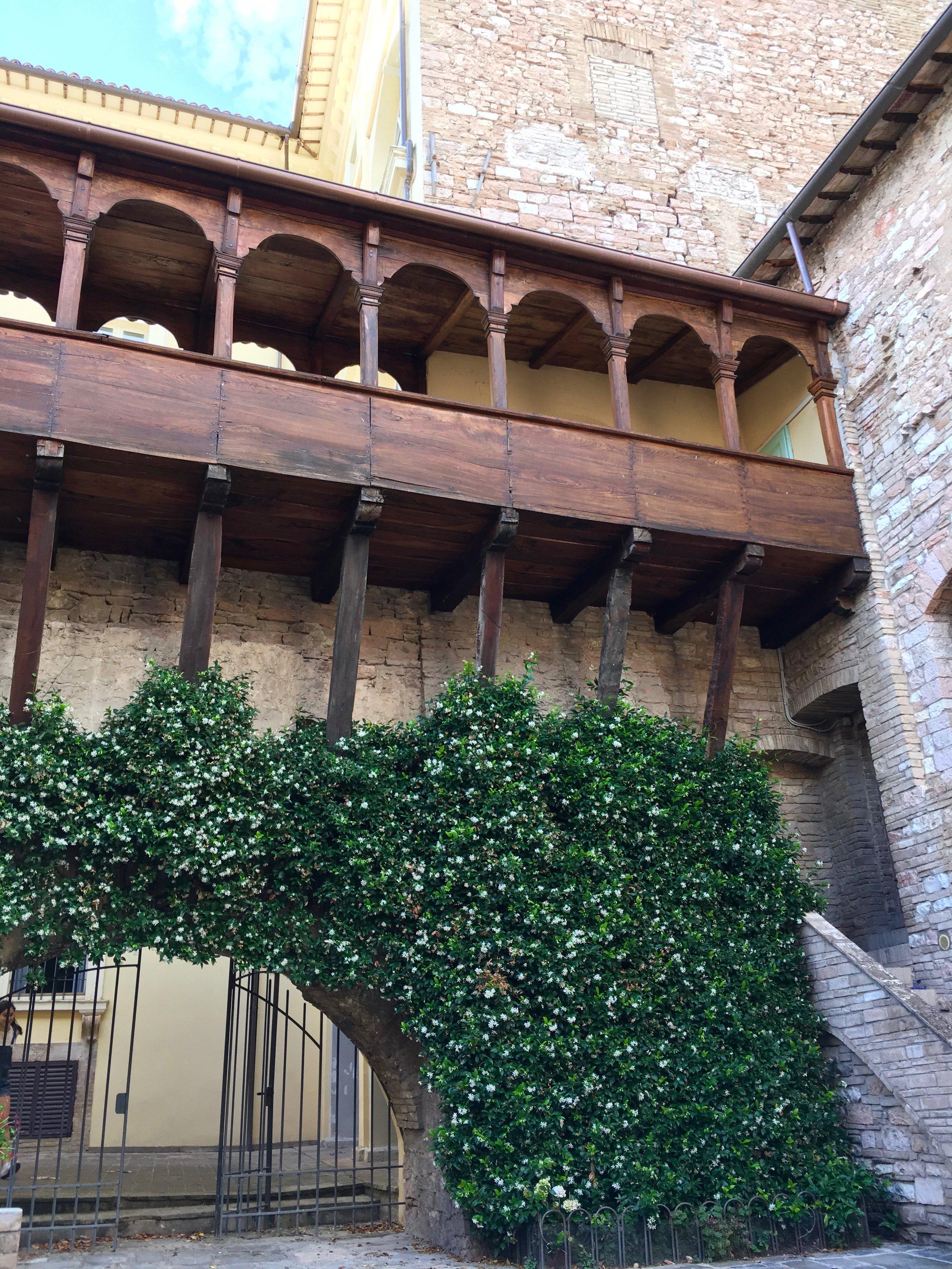 Loggia in Spello, Umbria