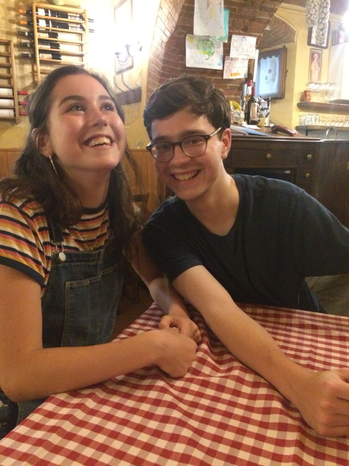 Siblings reunited