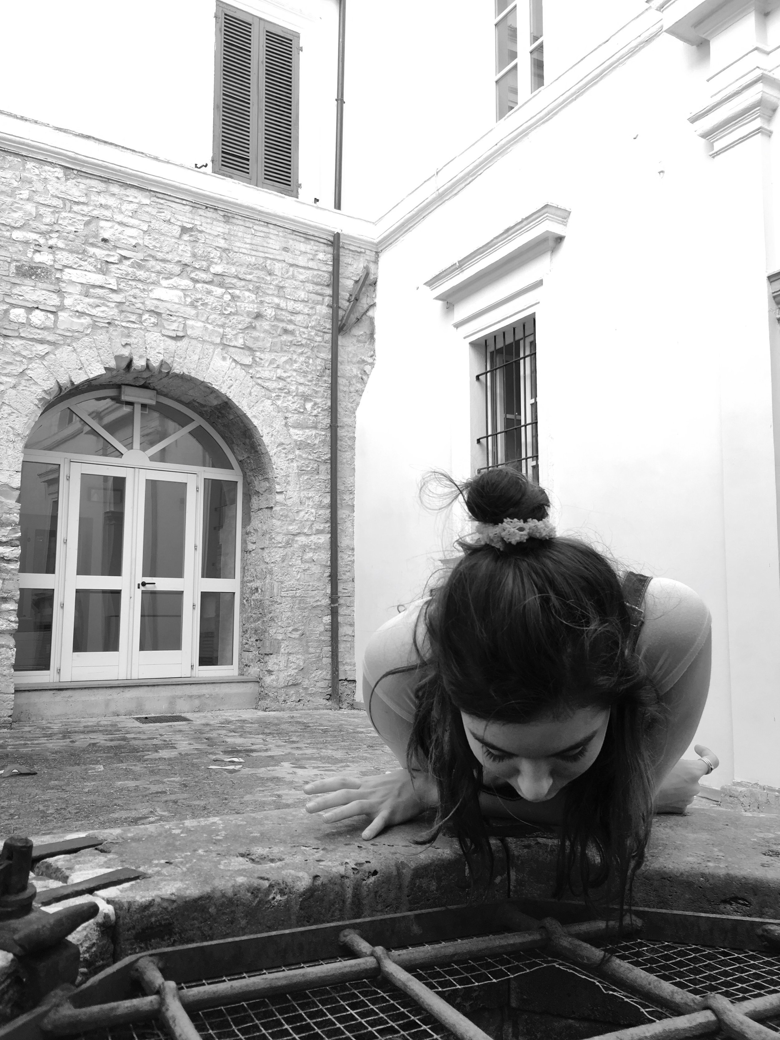 Siena and the well