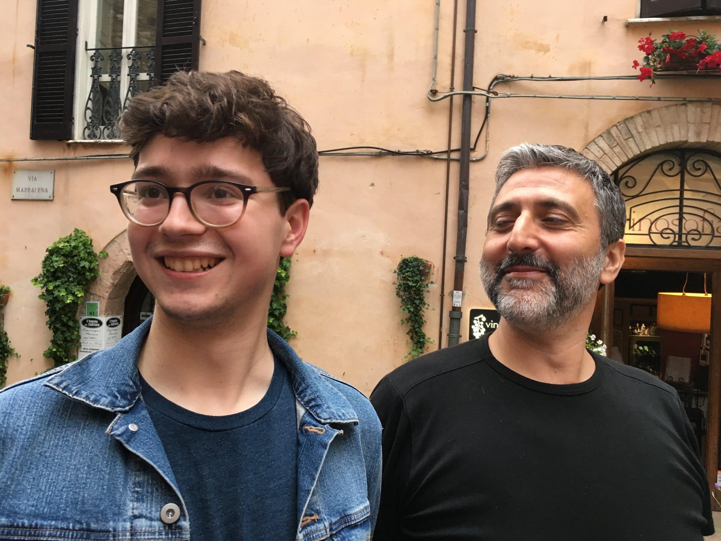 Graziano and Nicolas