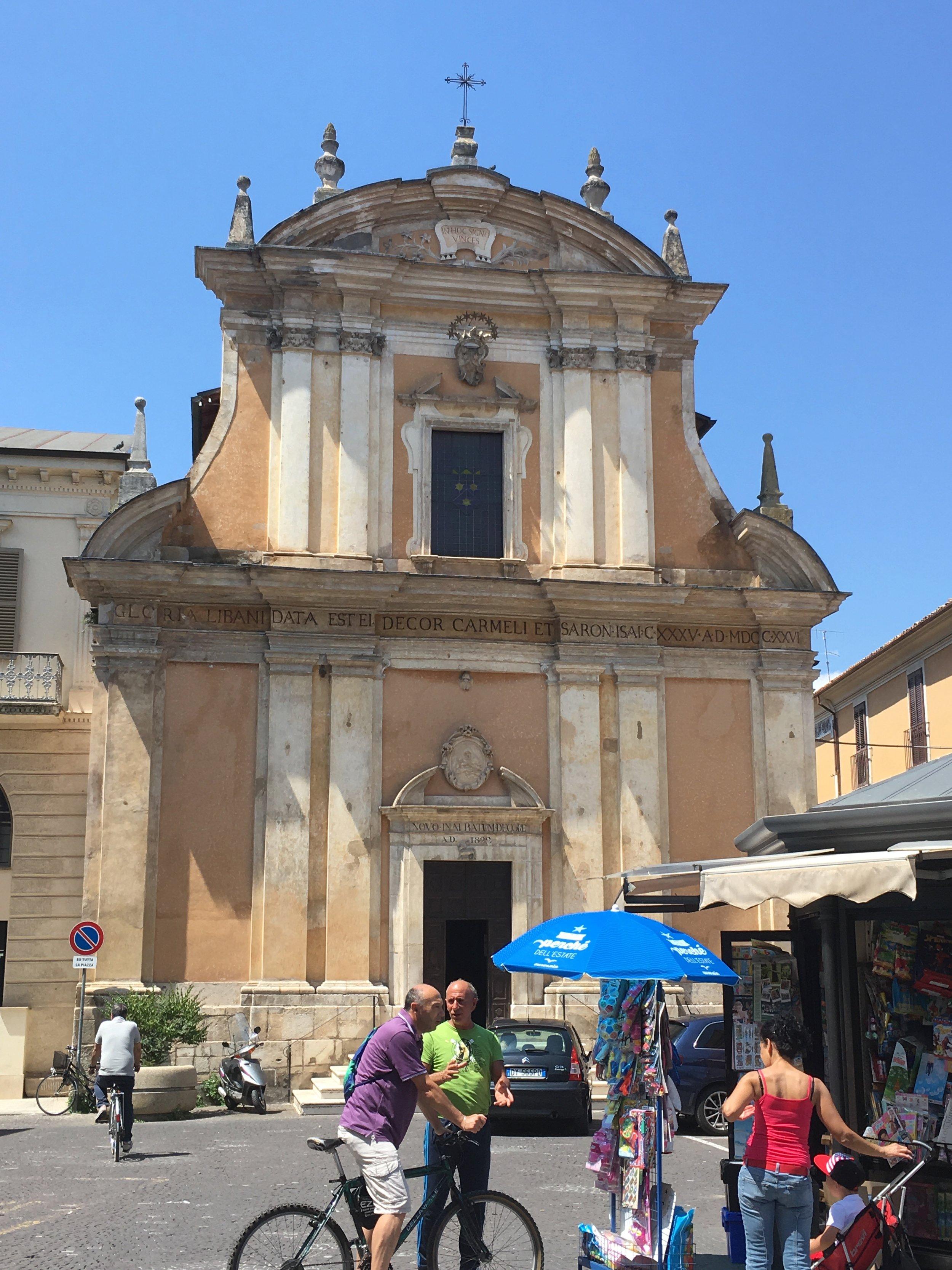 Church in Sulmona, Abruzzo