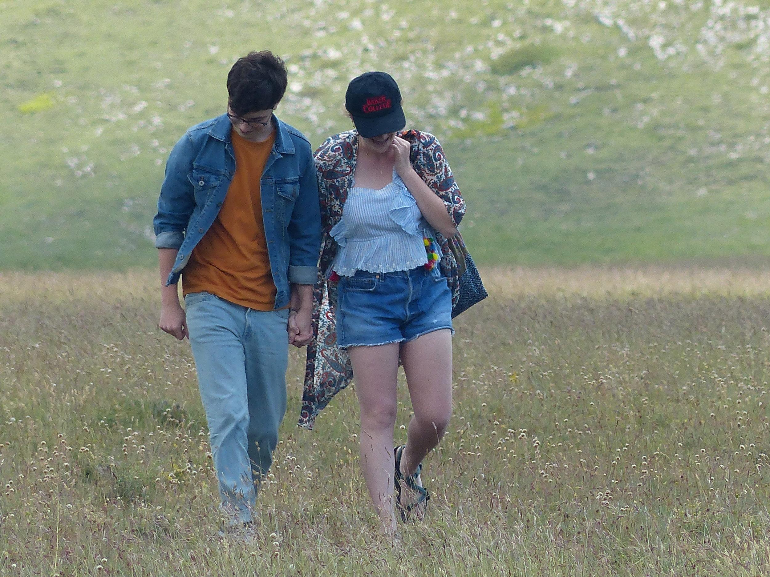 Nicolas and Julia explore the area around Mucciante in Abruzzo. I know. They are totally adorable.