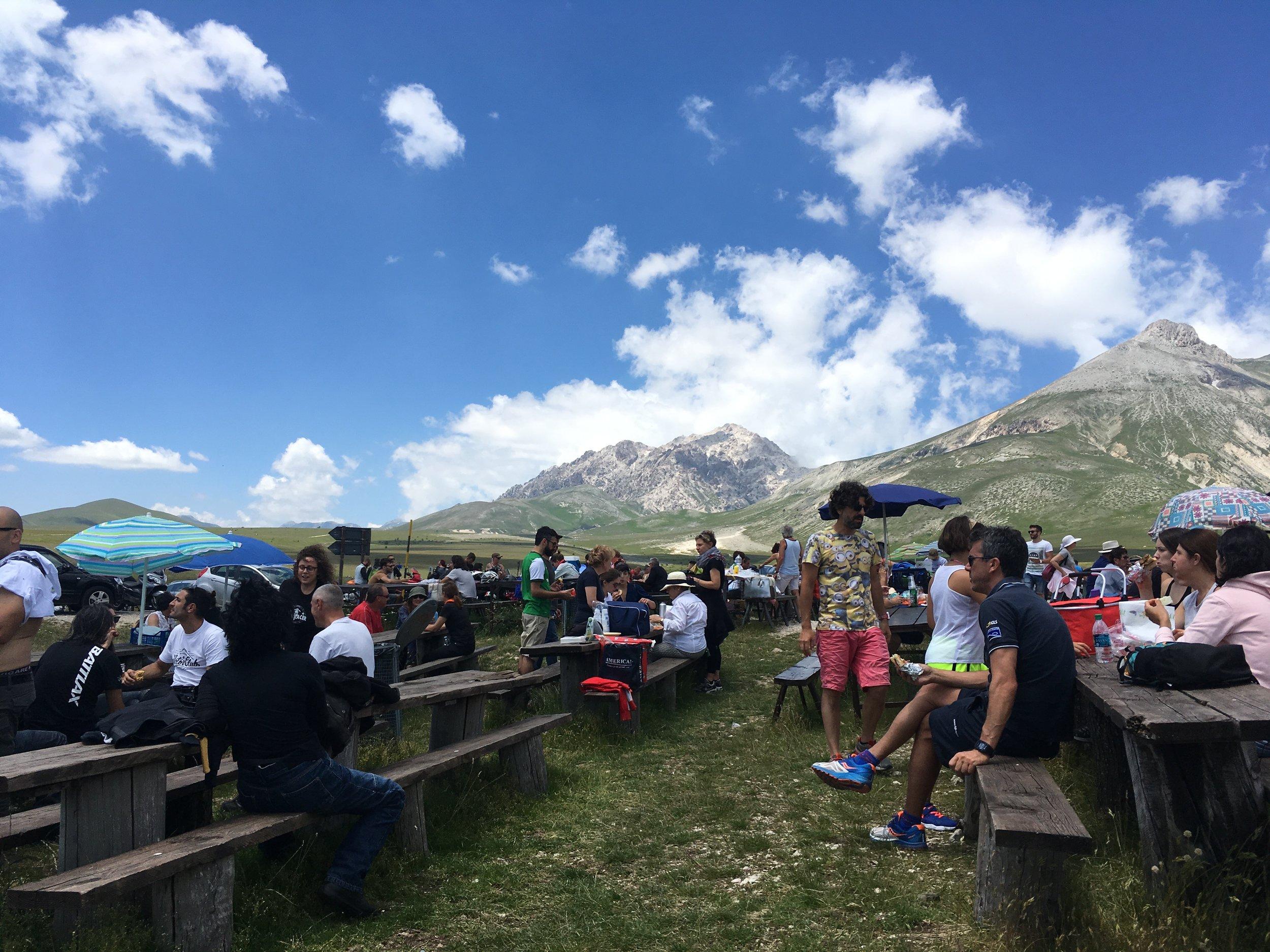Views from Mucciante in Abruzzo