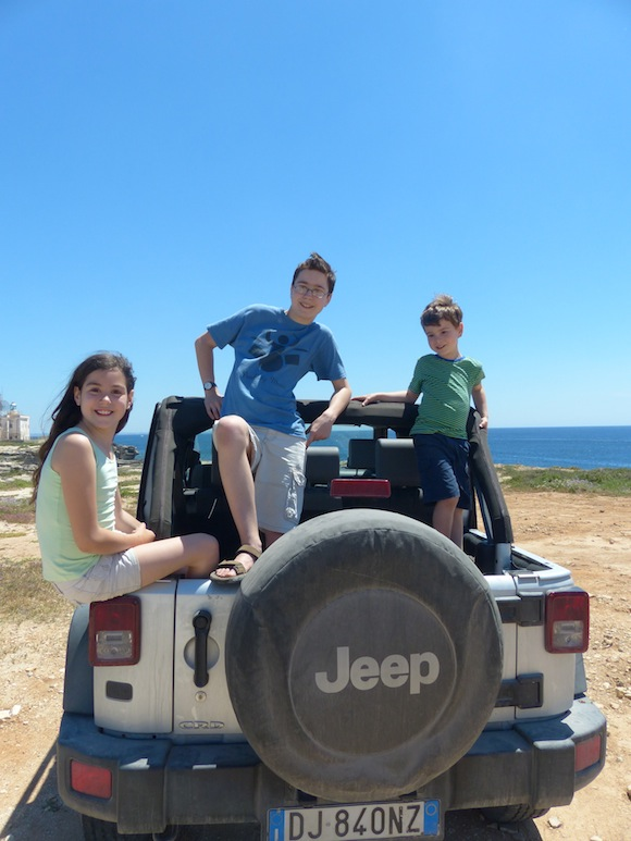 jeep favignana sicitly
