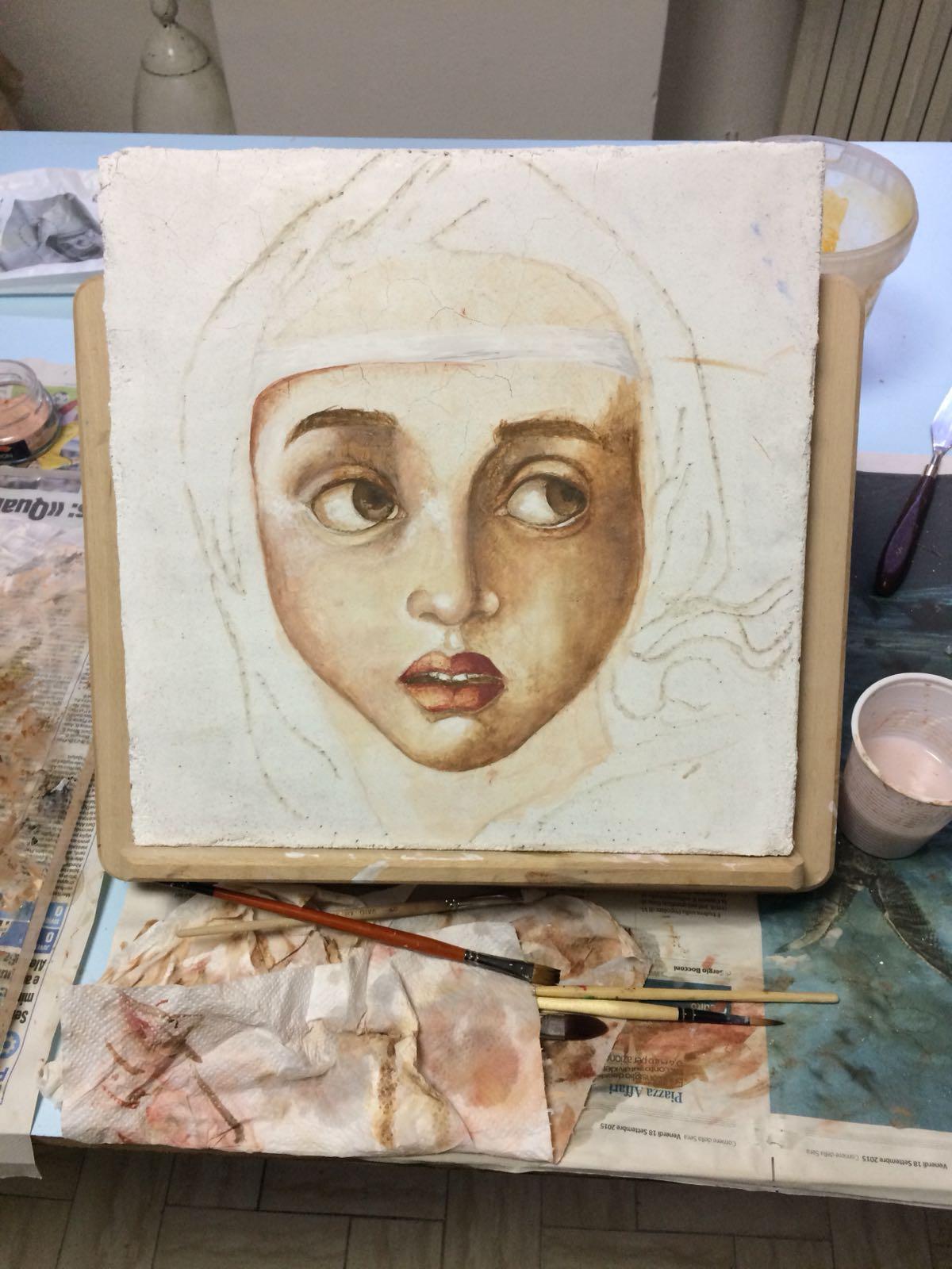 Siena's fresco begins