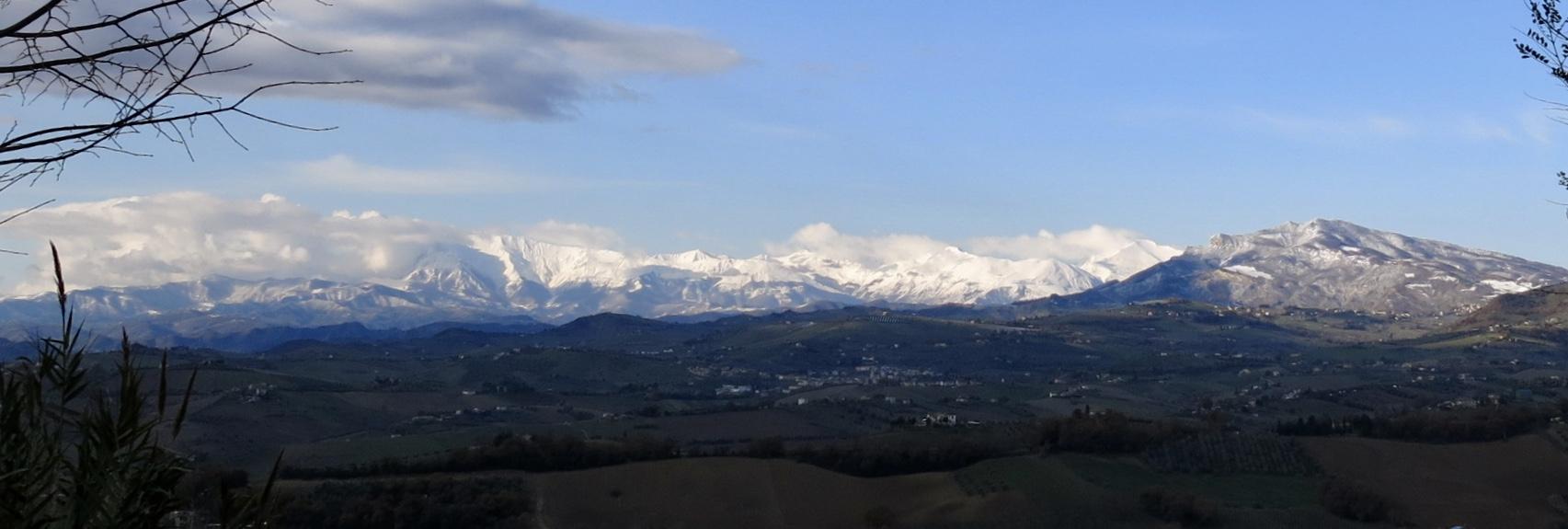 Vista of Le Marche