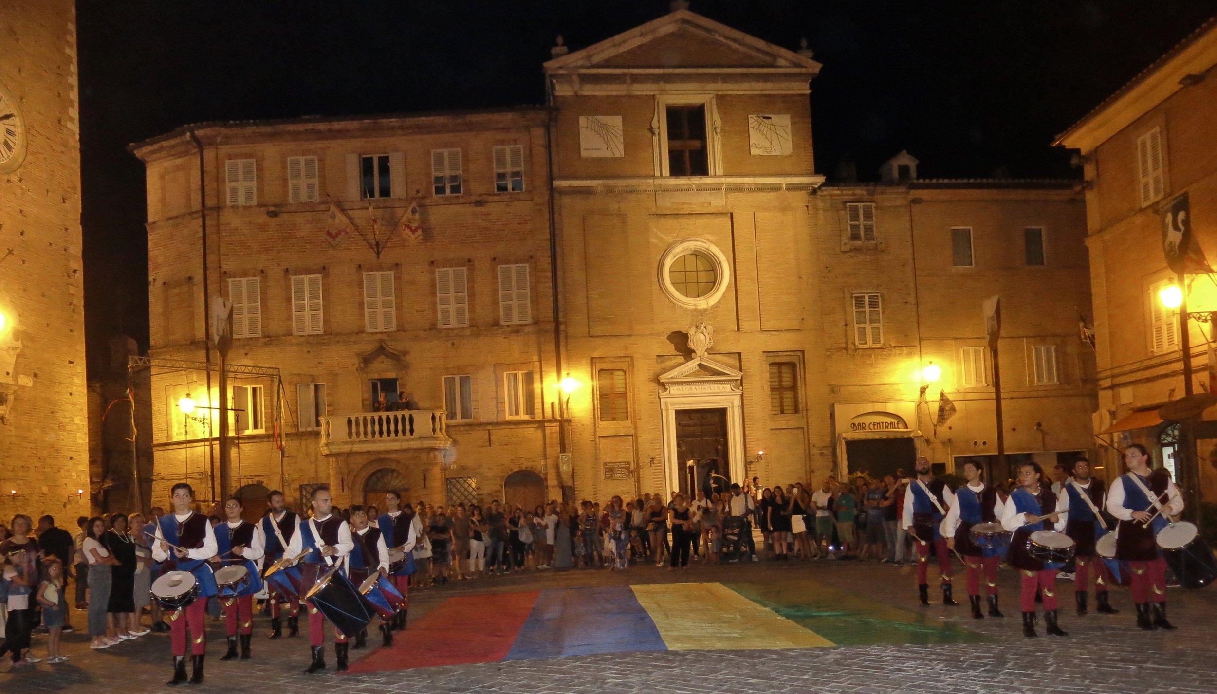 festival in le Marche, Italy
