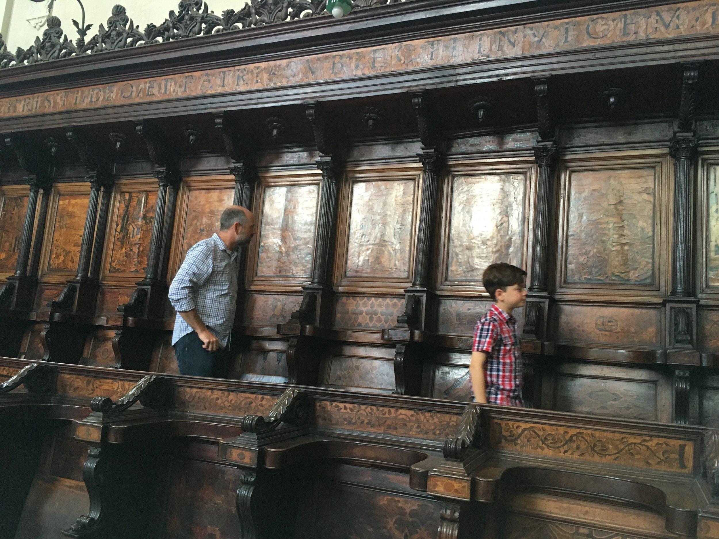 San Domenico Choir, Bologna, Italy
