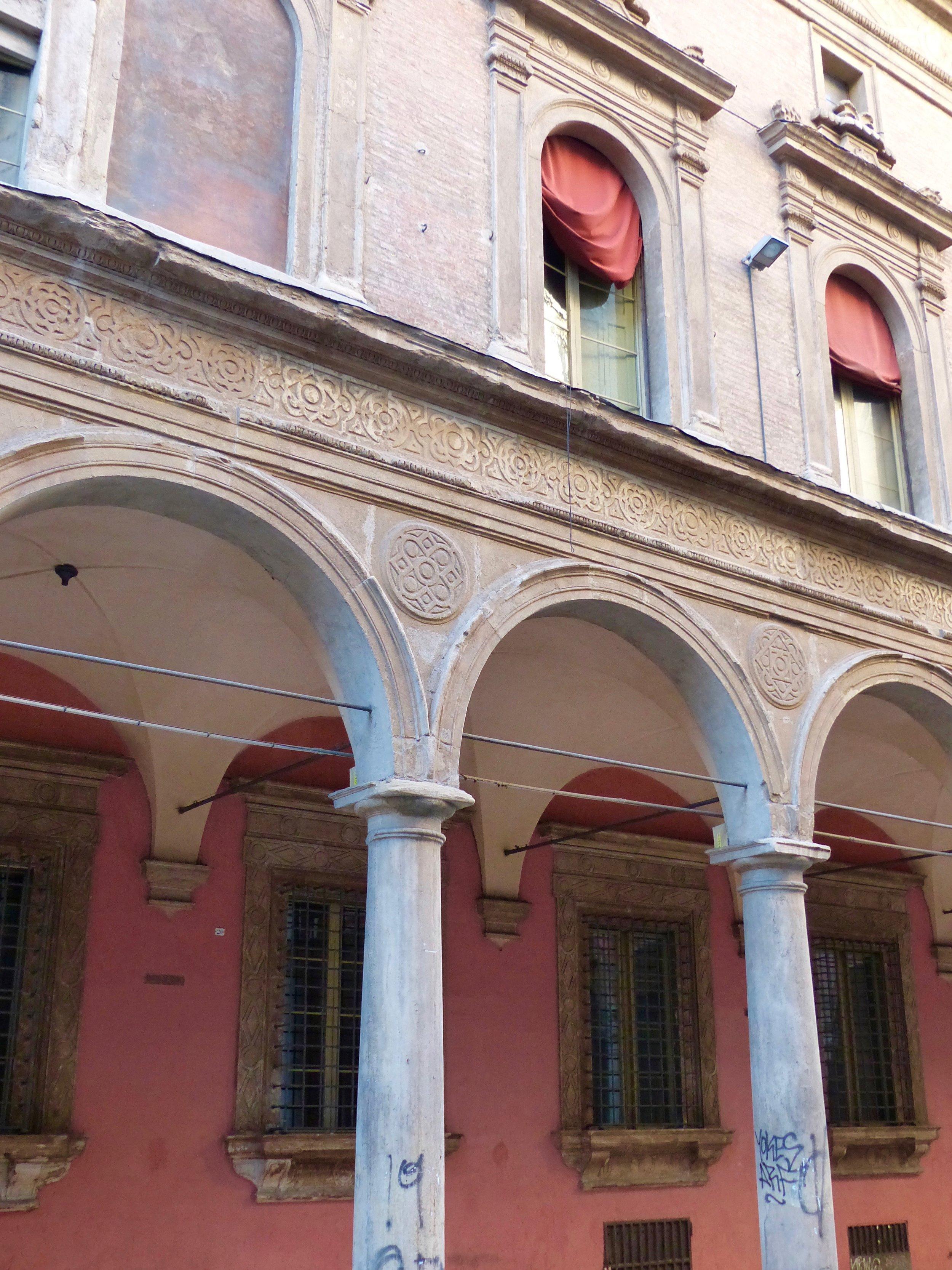 Portico in Bologna, Italy