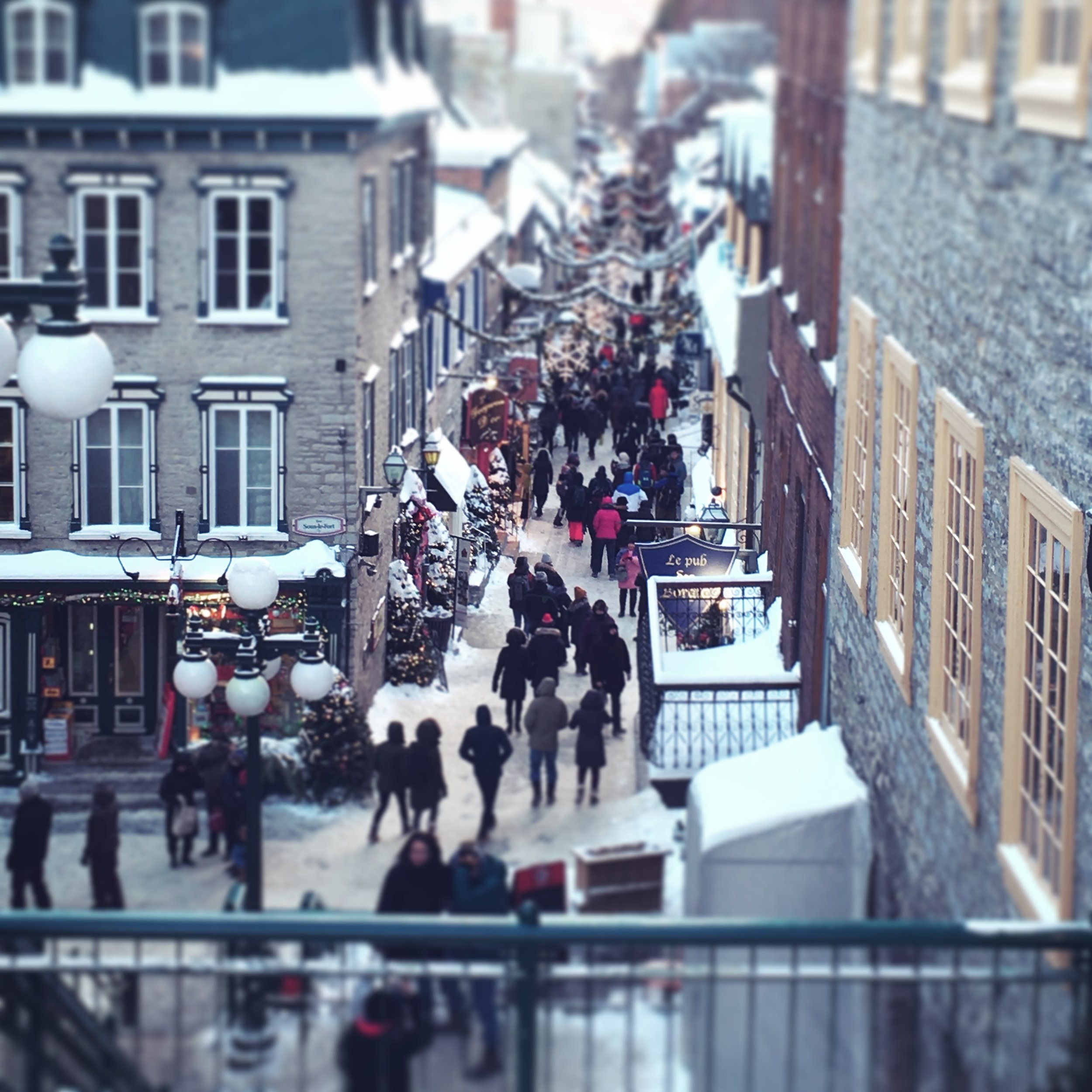 Christmas in Quebec City, Canada