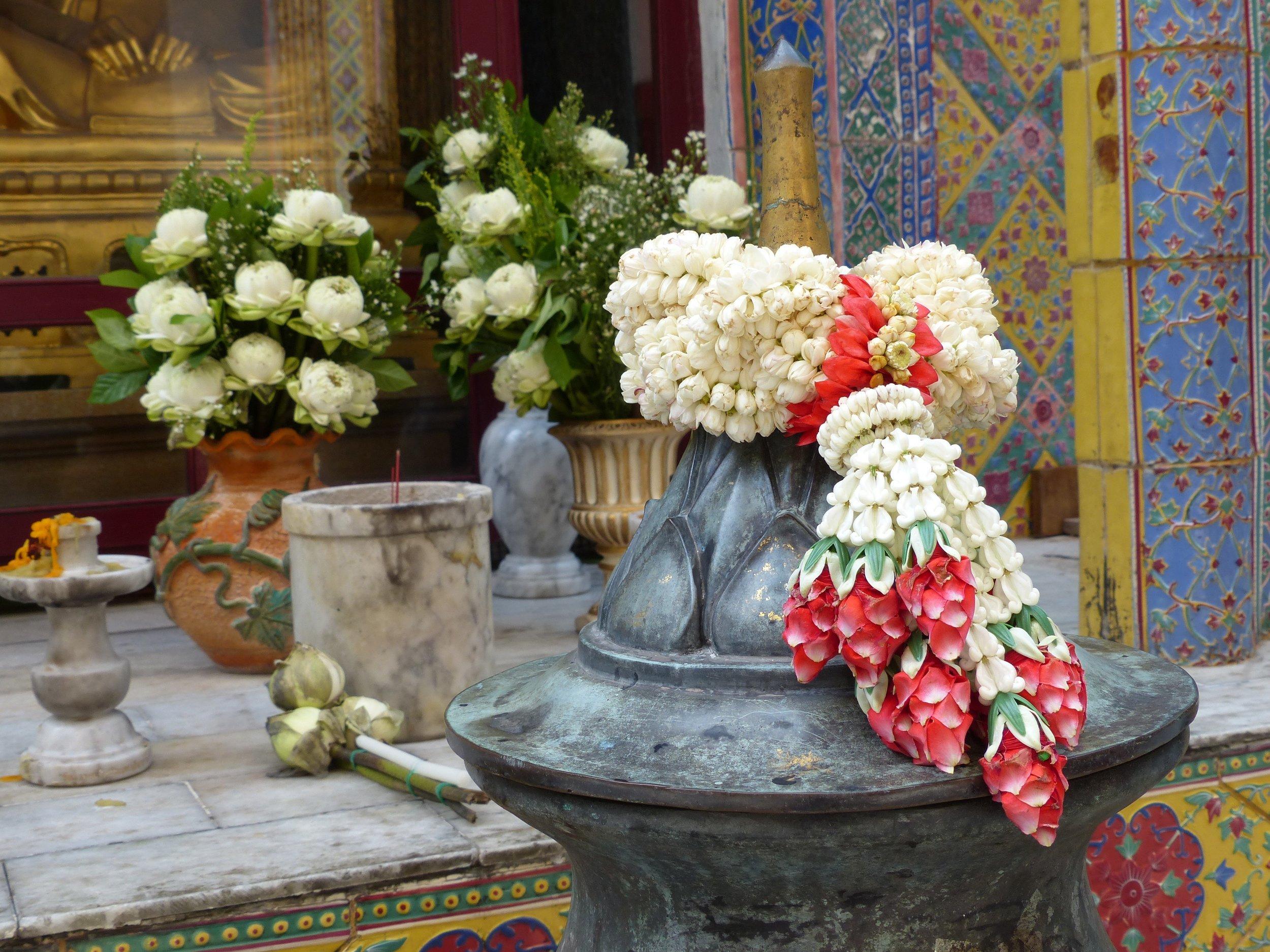 Jasmine wreath in Thailand, 2016