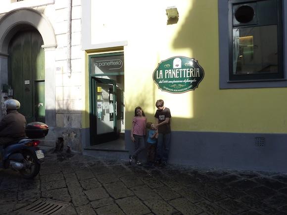 Paneterria in procida, Italy