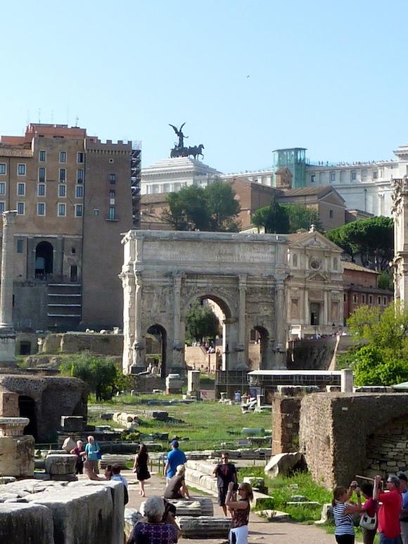 Rome forum in Italy