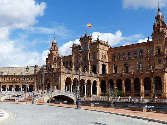plaza espana seville