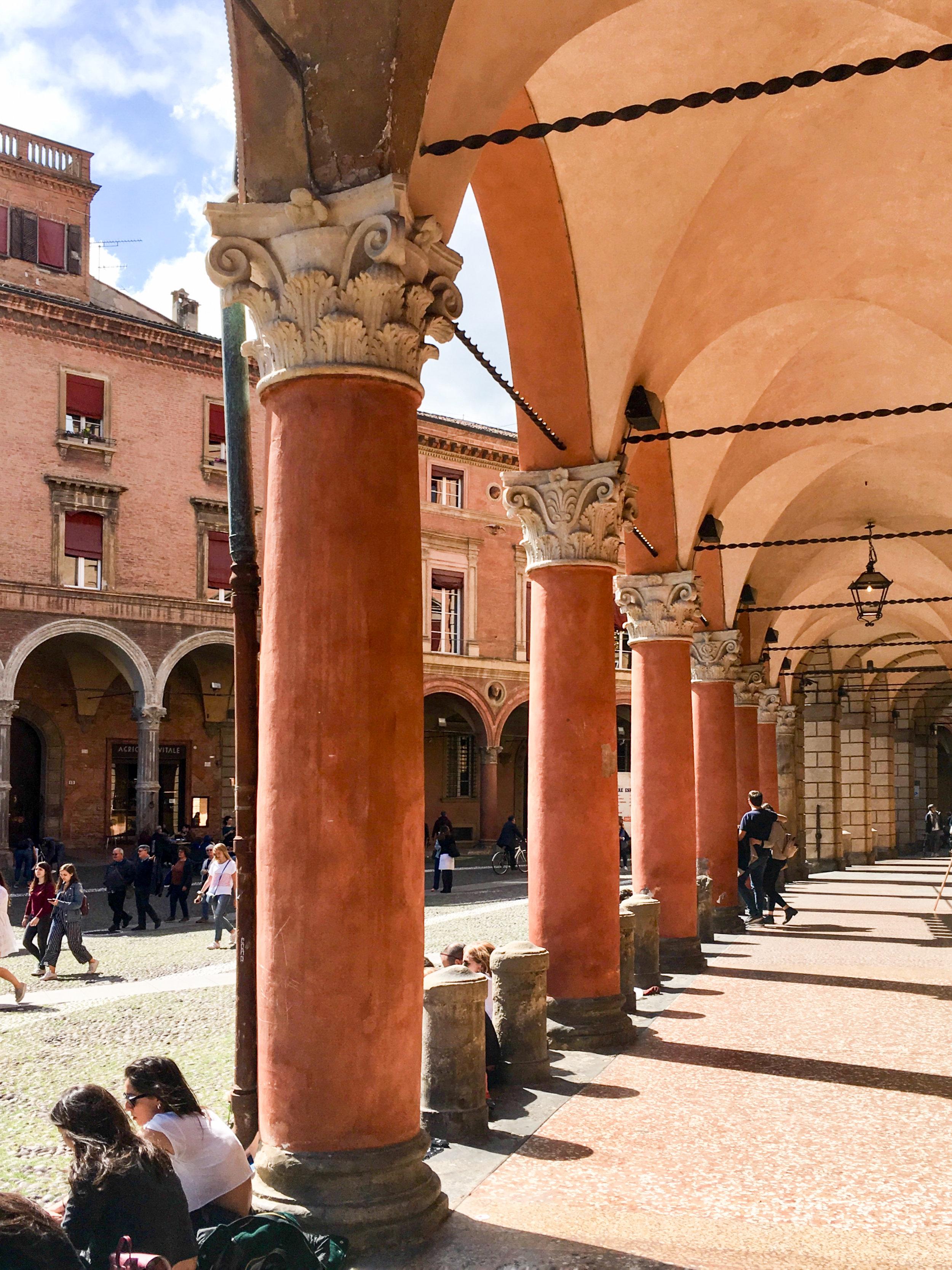 Arcade in Bologna