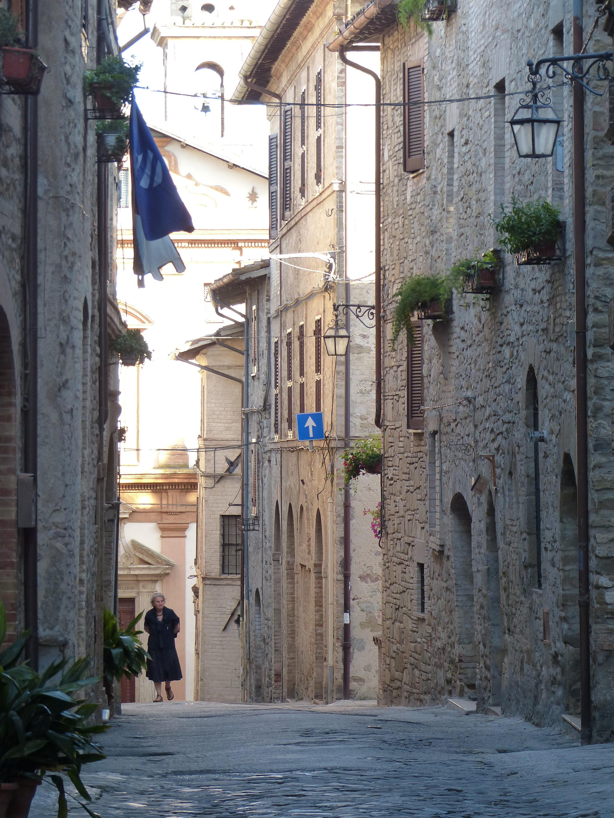 Bevagna street scene
