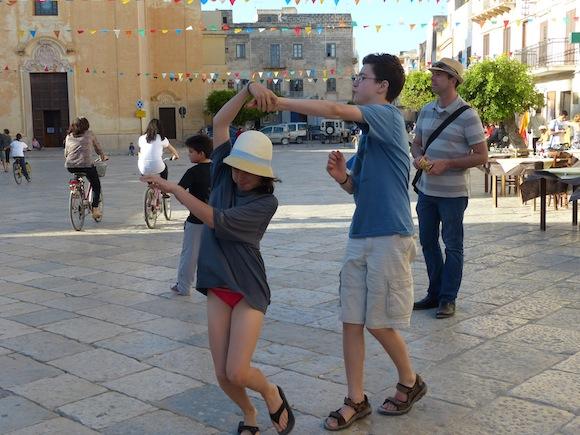 Dancing in Favignana