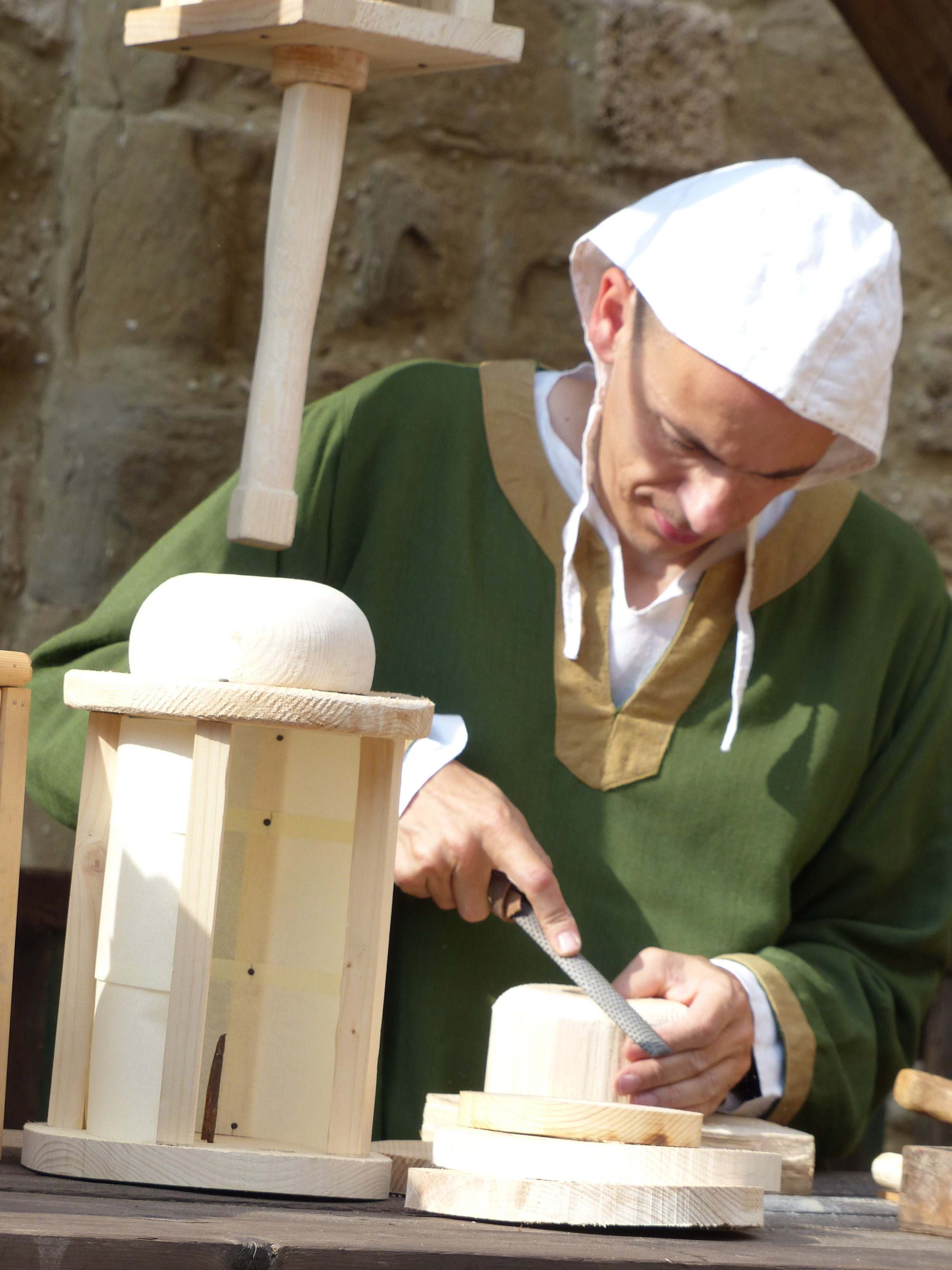 Wood smith in Bevagna