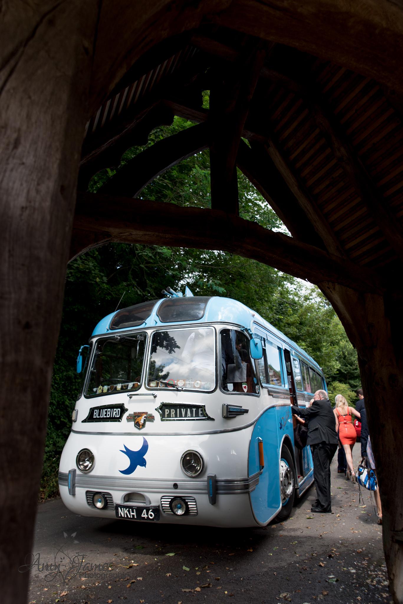 Hampshire wedding photographer // Fleet wedding photographer // Kent wedding // Countryside wedding // Wedding bus