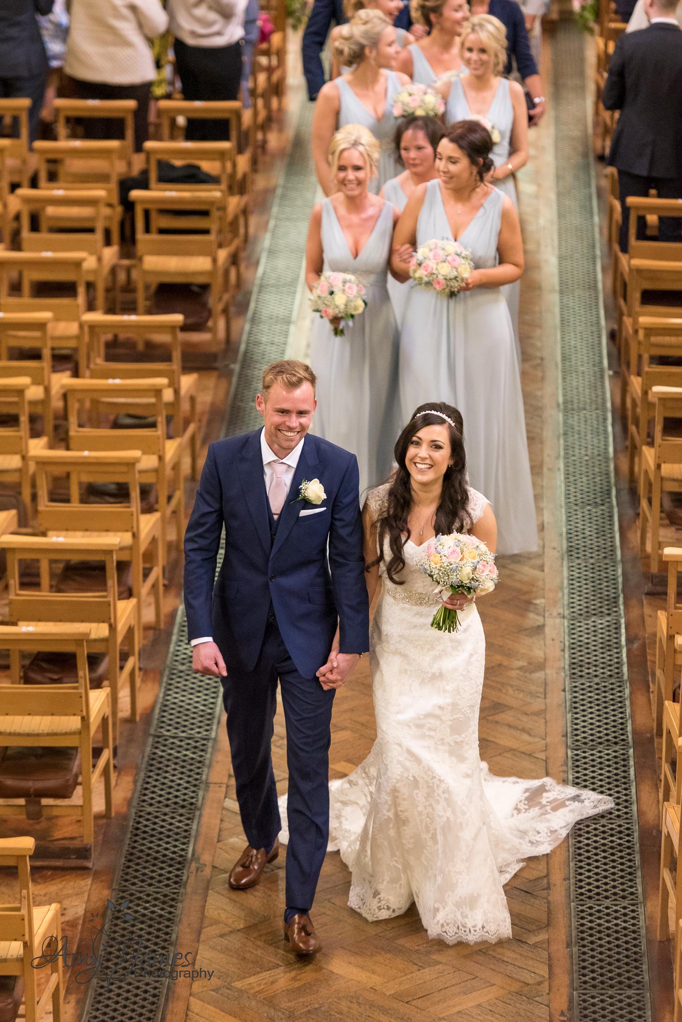 Hampshire wedding photographer // Fleet wedding photographer // Aldershot Garrison Wedding // Warbrook House wedding photographer