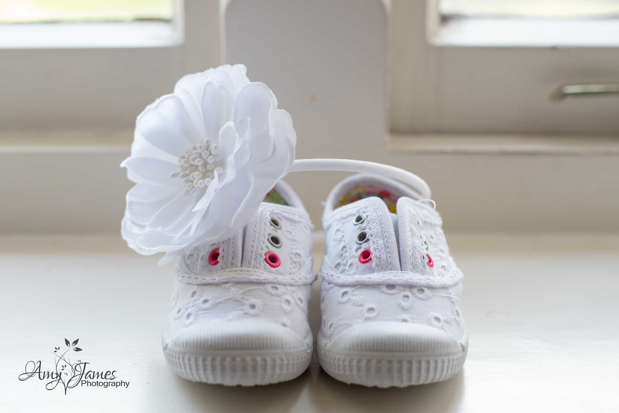 Amy James Photography // Wedding photographer Hampshire // Basingstoke wedding // Hampshire wedding venues // Bridesmaid shoes child // Bridesmaid trainers