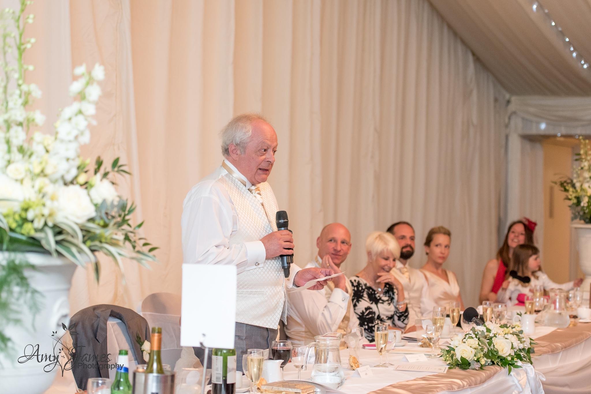 Amy James Photography // Audley Wood Hotel Wedding