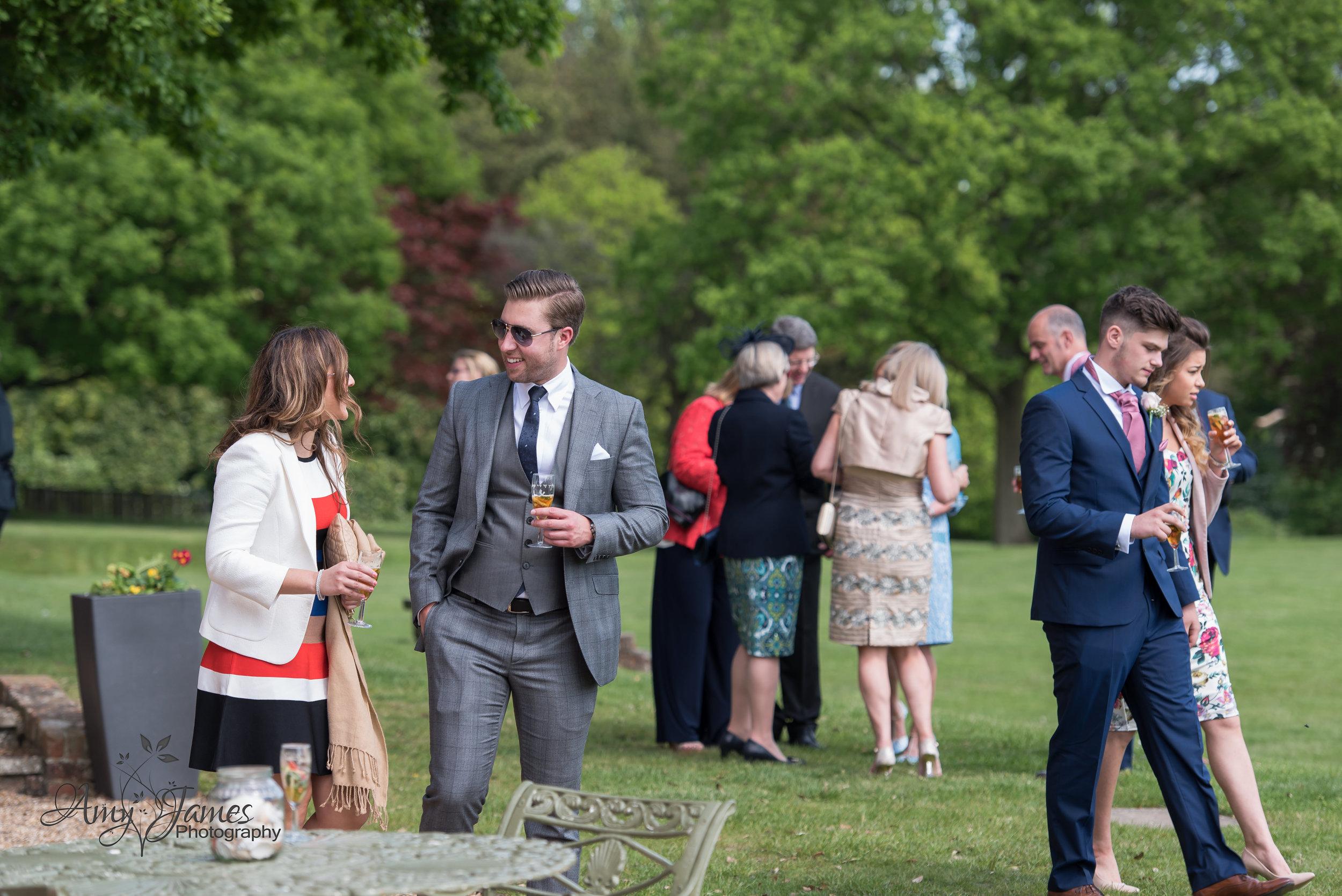 Highfield Park Hampshire Wedding Photographer | Highfield Park Wedding Venue | Amy James Photography
