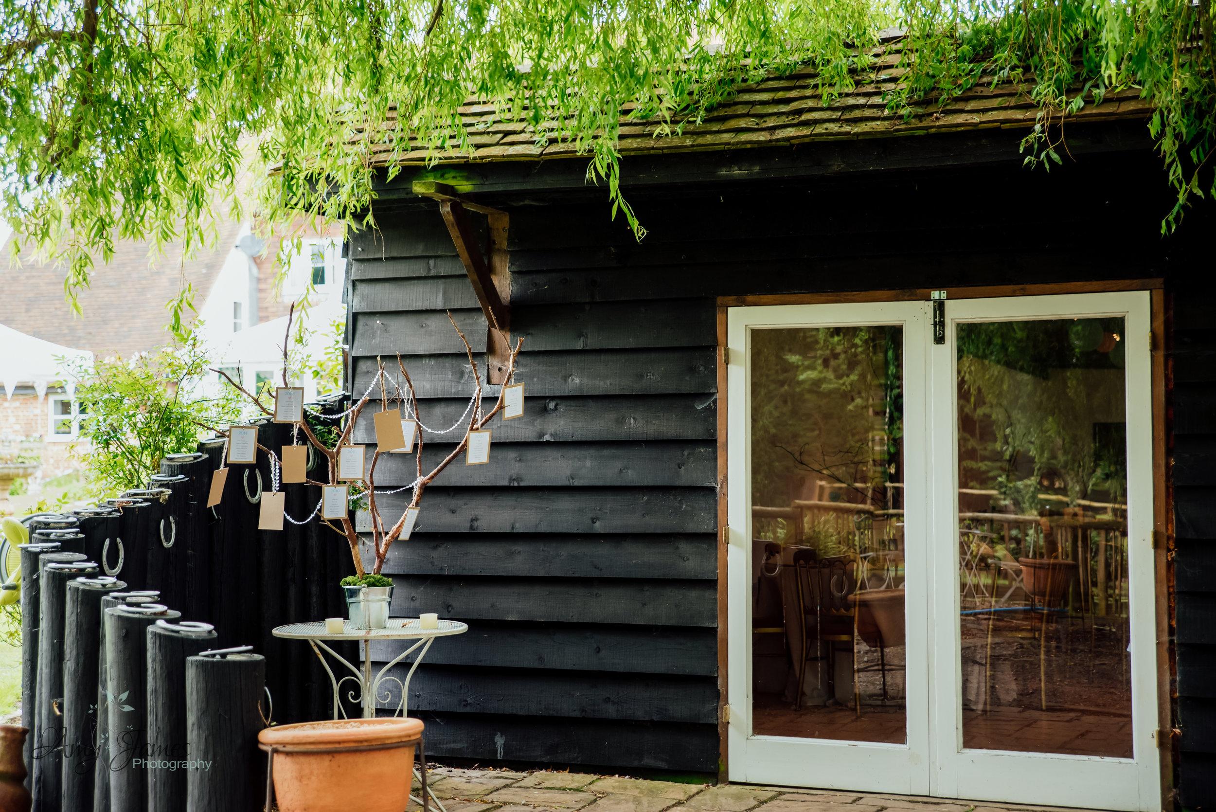 Garden wedding venue with barn wedding reception - Taplins Place Wedding - Amy James Photography - Wedding Photographer Hampshire