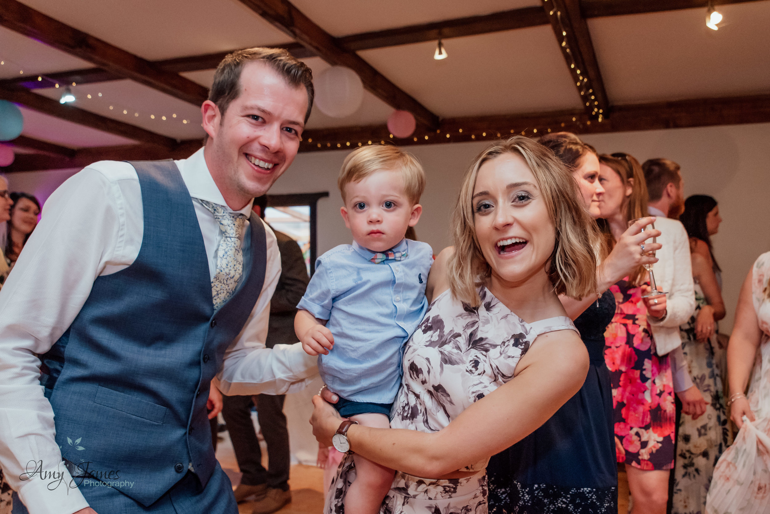 Dancefloor photo at Taplins Place wedding venue Hampshire by Amy James Photography Hampshire and Surrey wedding photographer