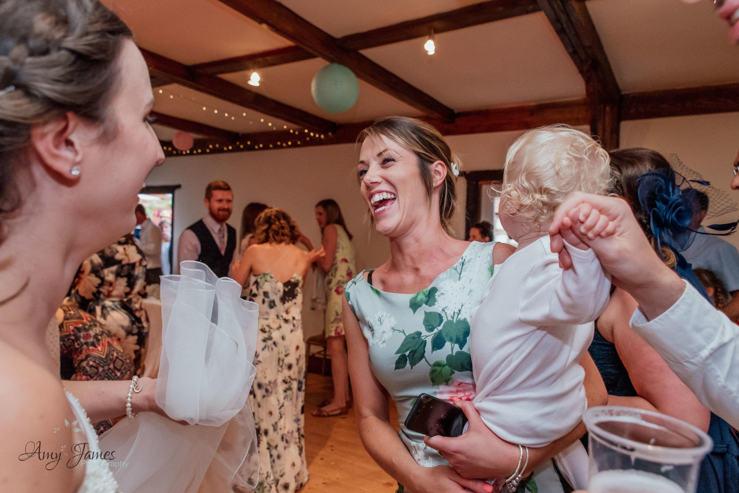 Wedding dancefloor photo by Amy James Photography Hampshire and Surrey documentary wedding photographer