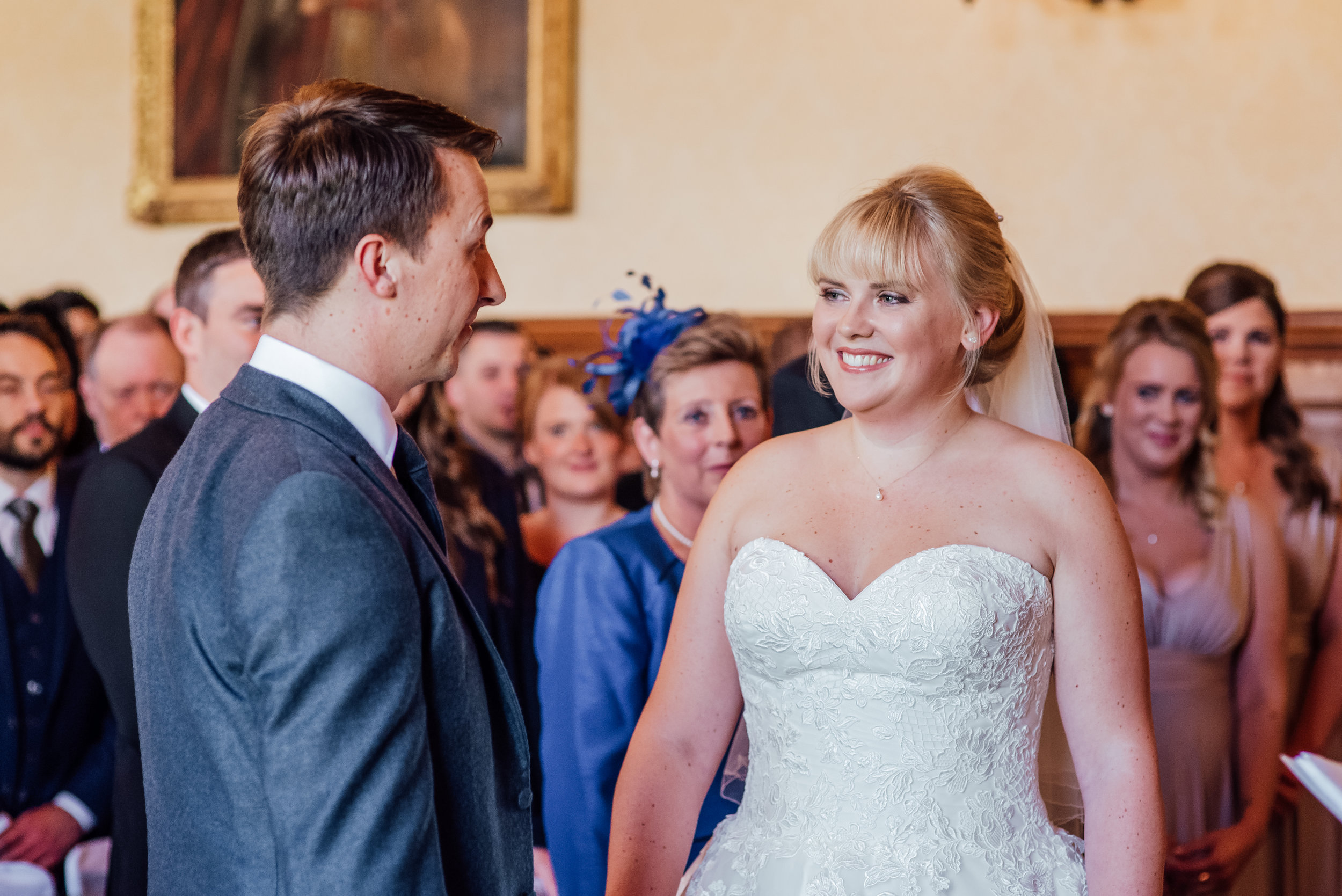 Bride and Groom at The Elvetham - Amy James Photography - Hampshire Wedding Photographer