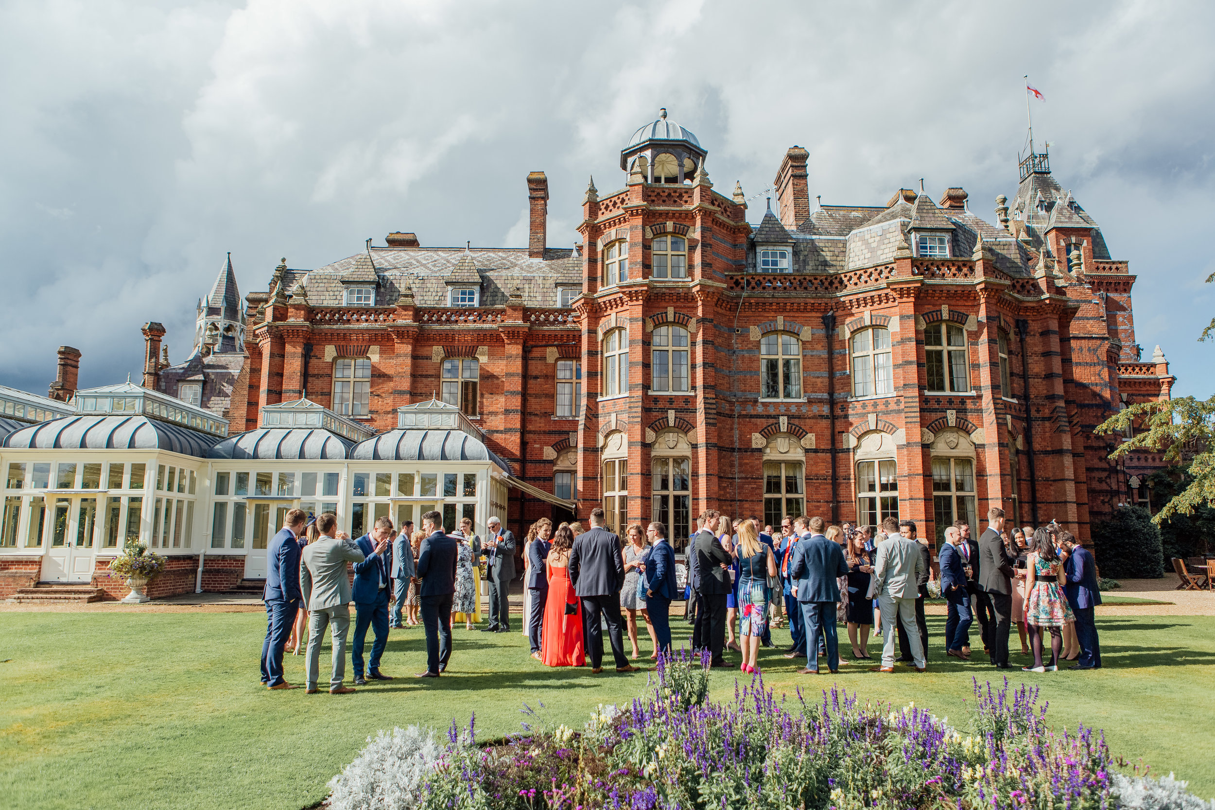 Candid photographs of guests at a wedding - Amy James Photography - Documentary wedding photographer Hampshire