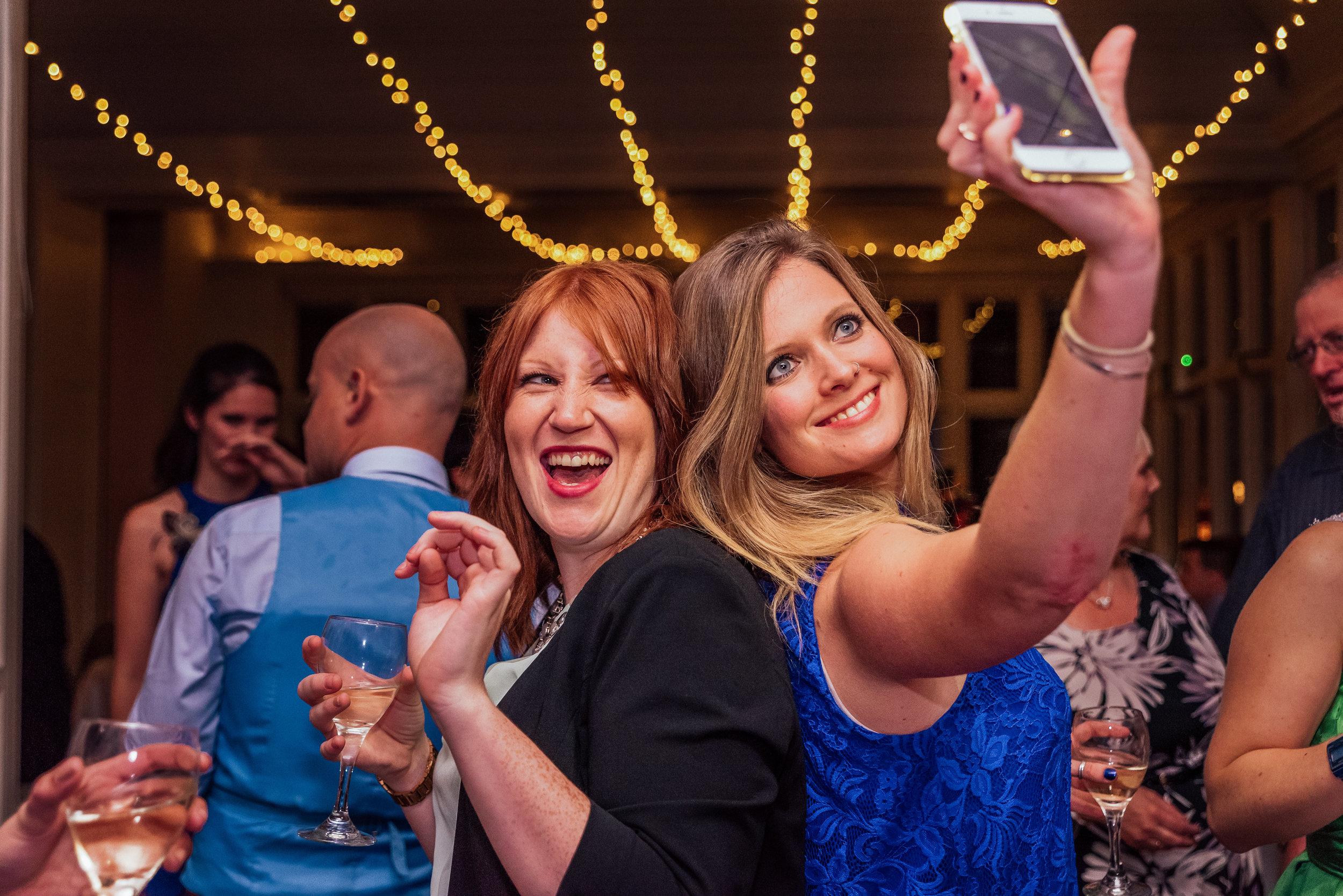 dace floor selfie - the elvetham wedding venue Hampshire - Amy James photography - documentary wedding photographer Hampshire