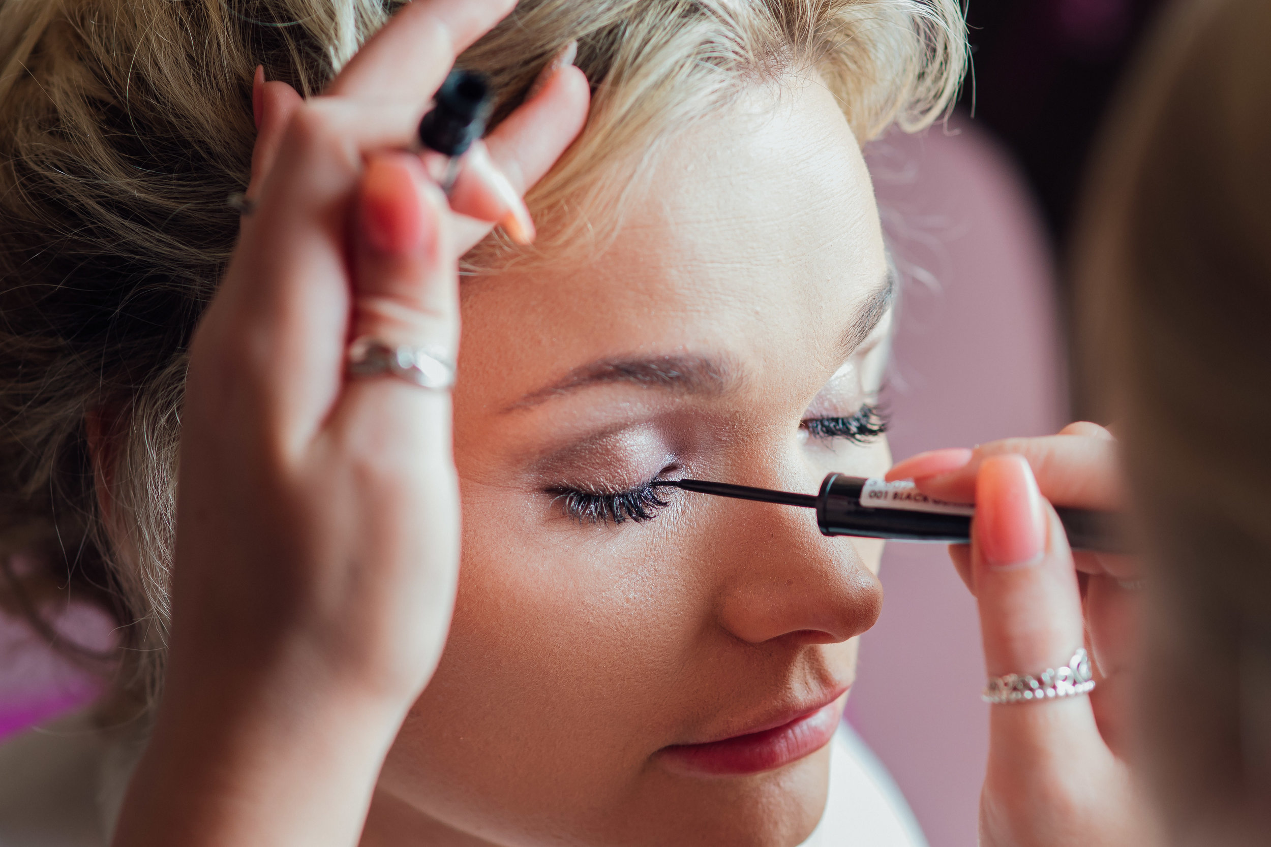 bridal preparation photograph at the George in Rye East Sussex wedding venue by Amy James Photography wedding photographer for Hampshire Dorset and Surrey