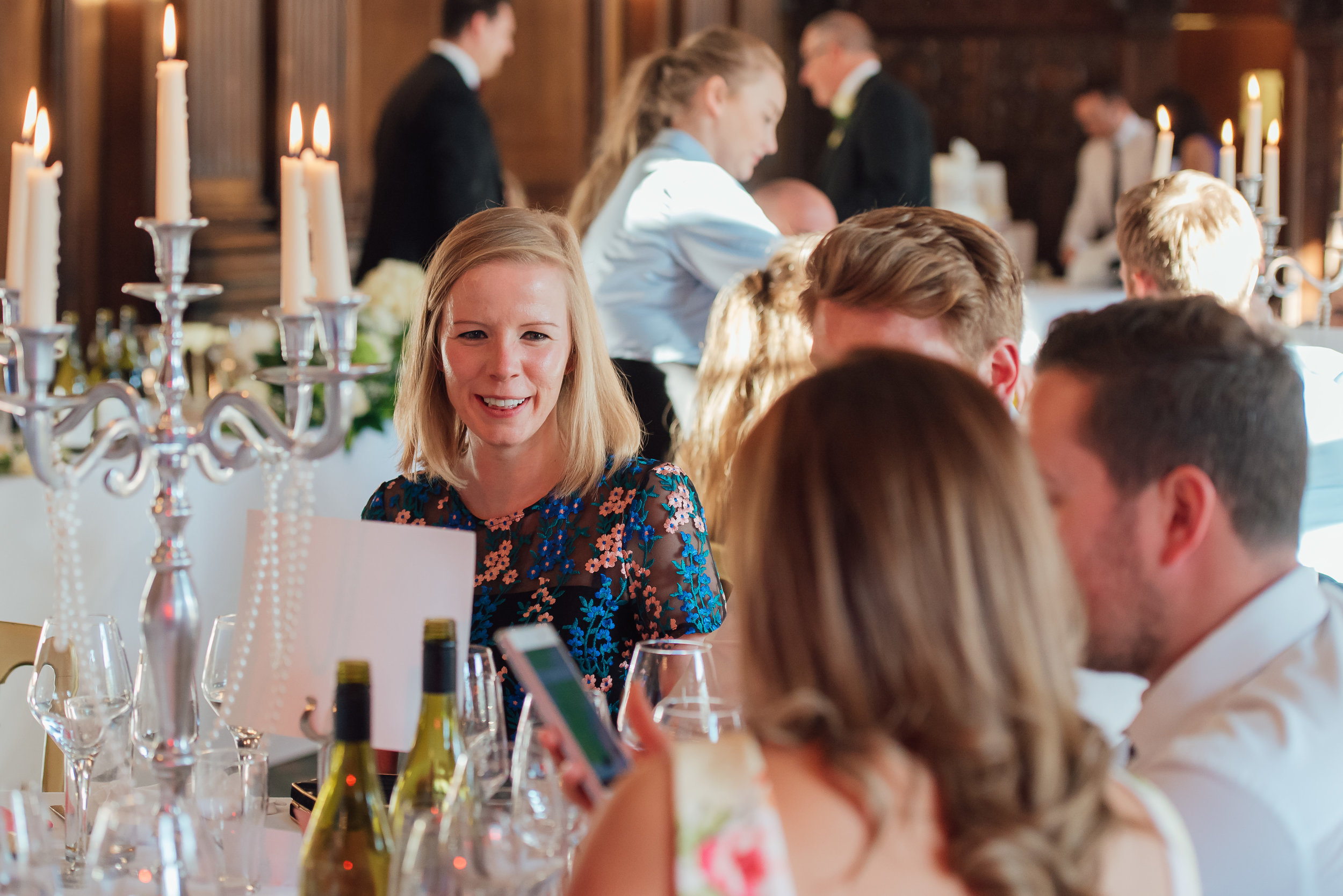 Wedding reception at Heatherden Hall Pinewood Studios - Amy James Photography - Wedding photographer Hampshire Surrey and Berkshire