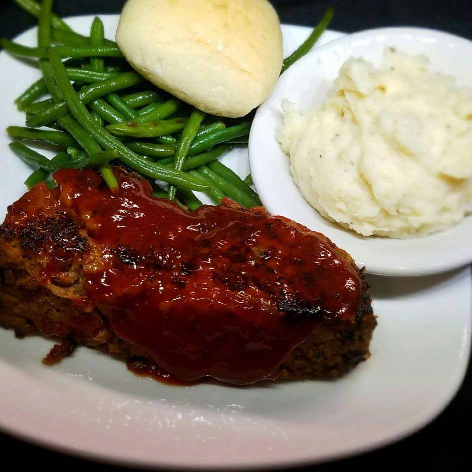 2. Meatloaf - There's not much to say except this meatloaf is