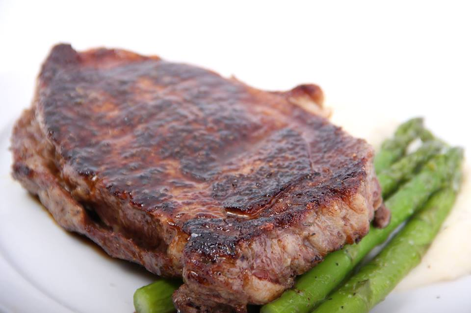 1. Steak  - Hunter's is the best place around for a good ole steak. You can choose from a 16oz Ribeye, 14oz New York Strip, 12oz Filet, or a 8oz Petite Filet.