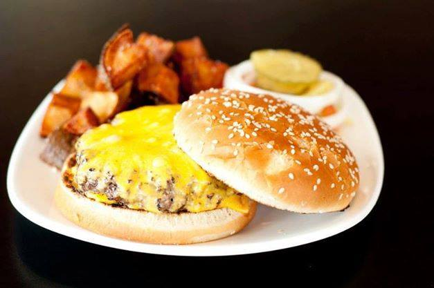 2. Cheeseburger - Sometimes you just want a hand made burger and when those times come around it's time for a visit to Ready Steak GO!