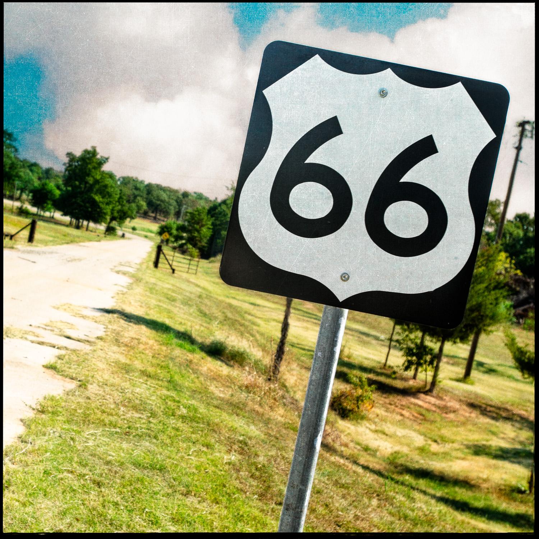 Depew 66 Sign