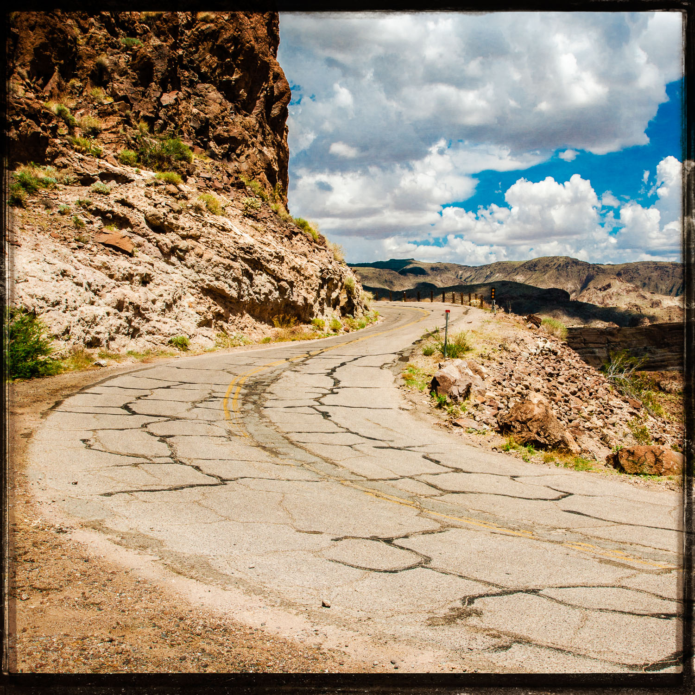 Oatman Highway Hairpin Turns